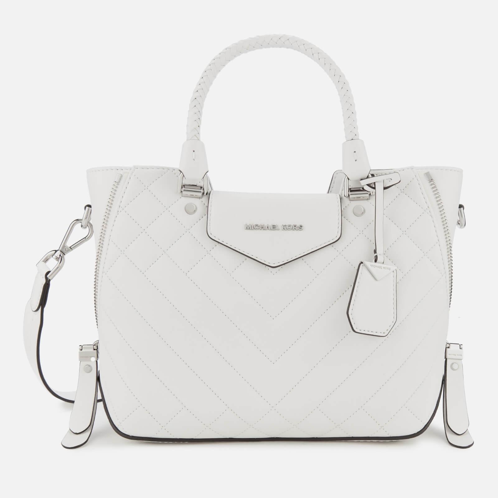 51d2aa840b4c MICHAEL MICHAEL KORS Women's Blakely Medium Messenger Bag - Optic White  Womens Accessories | TheHut.com