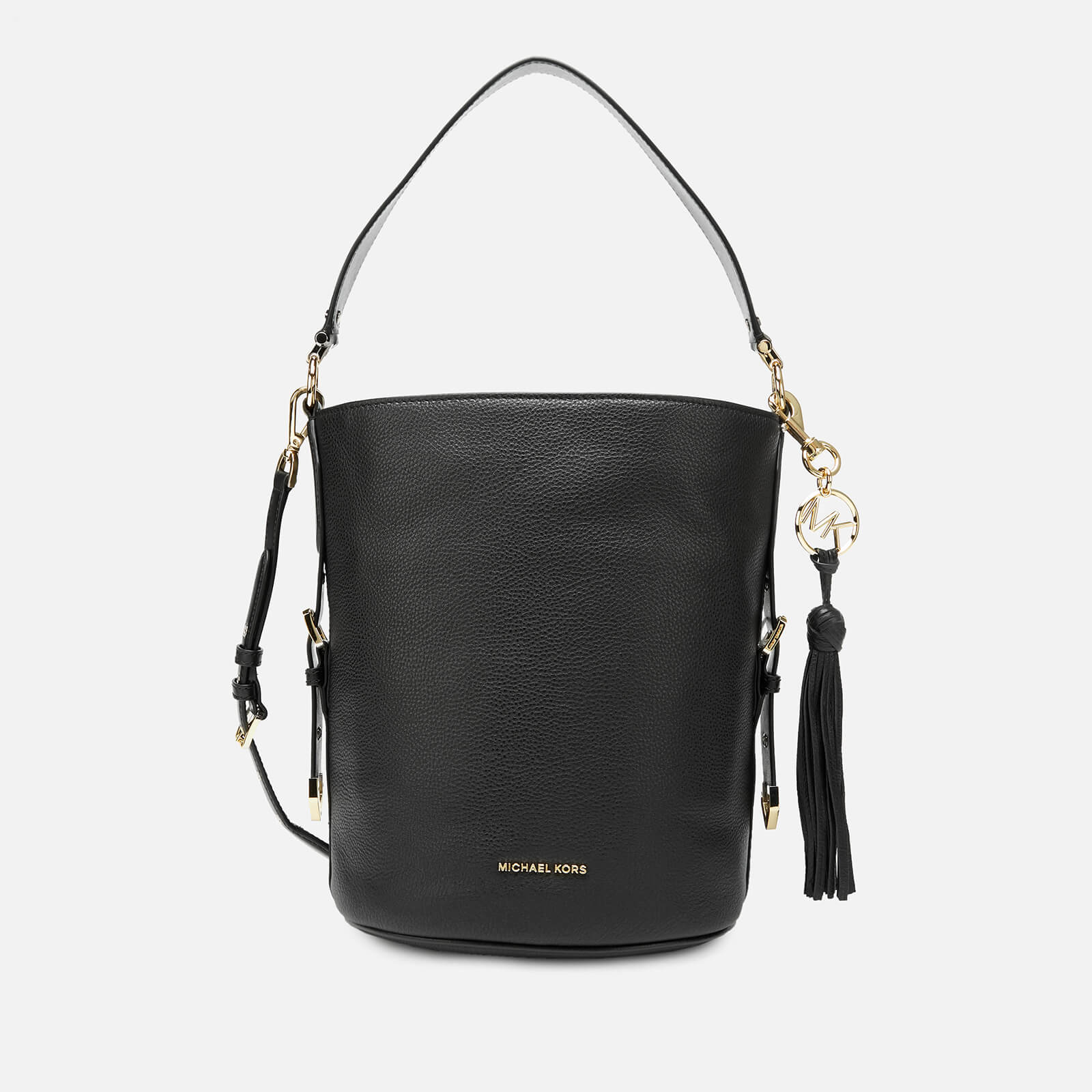 95c0ac8f374b MICHAEL MICHAEL KORS Women's Brooke Medium Bucket Messenger Bag - Black -  Free UK Delivery over £50