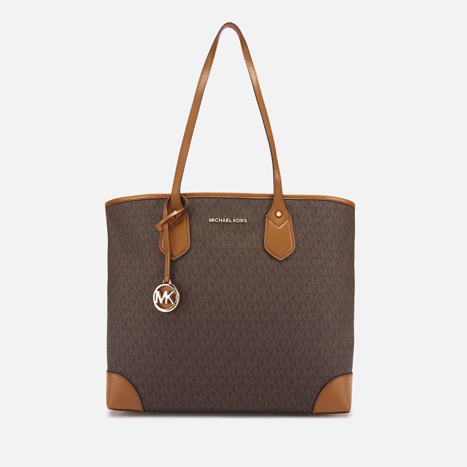 fe3949d5dd359c MICHAEL MICHAEL KORS Women's Eva Large Tote Bag - Brown - Free UK Delivery  over £50