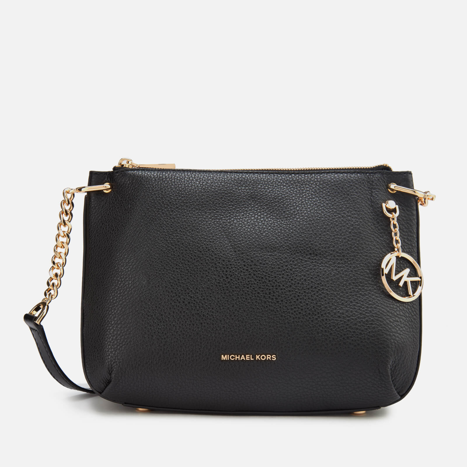 8021665aca05a5 MICHAEL MICHAEL KORS Women's Lillie Large Messenger Bag - Black Womens  Accessories | TheHut.com