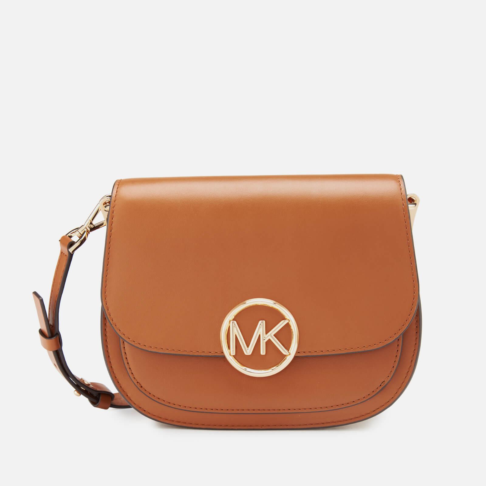 ddbbf6d29406 MICHAEL MICHAEL KORS Women s Lillie Medium Saddle Messenger Bag - Acorn -  Free UK Delivery over £50