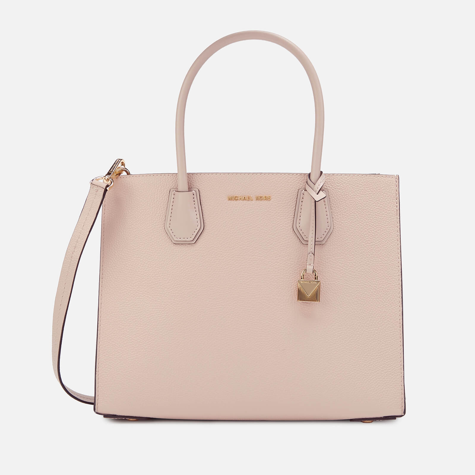 faebc682d9a9 MICHAEL MICHAEL KORS Women s Mercer Large Accordian Conversational Tote Bag  - Soft Pink - Free UK Delivery over £50