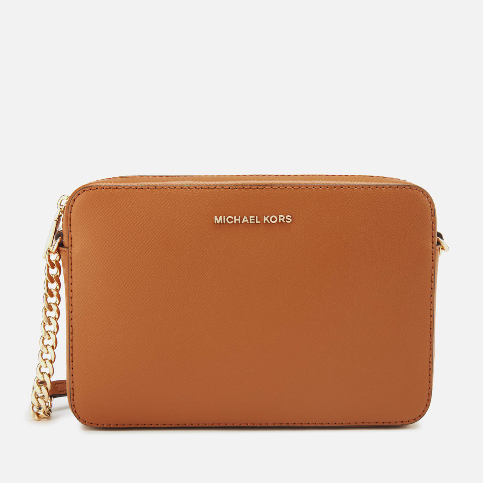 MICHAEL MICHAEL KORS Women's Crossbodies Large East West Cross Body Bag - Acorn 原價175英鎊 優惠價105