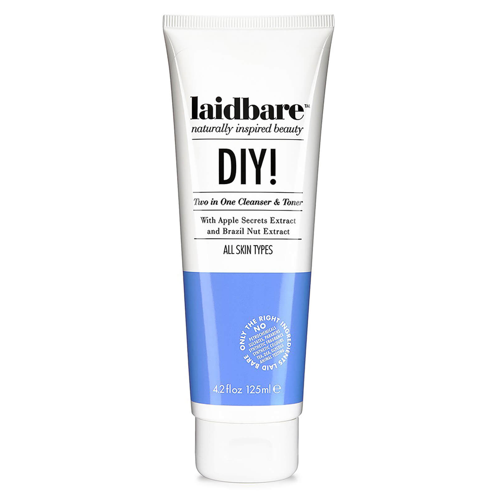 Laidbare DIY! Two in One Cleanser & Toner 125ml | Free Shipping