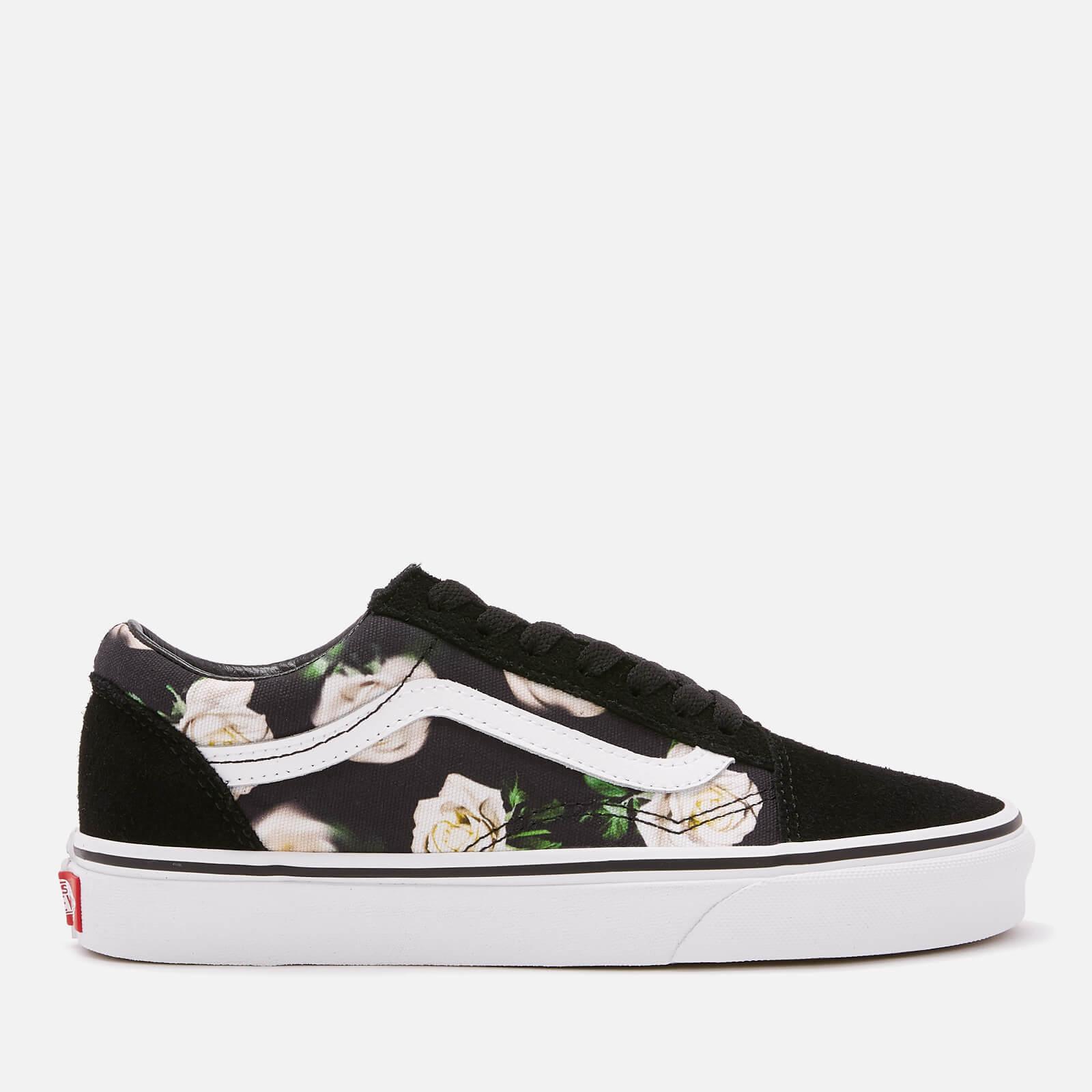 392fe271c3 Vans Women s Romantic Floral Old Skool Trainers - Black True White Womens  Footwear