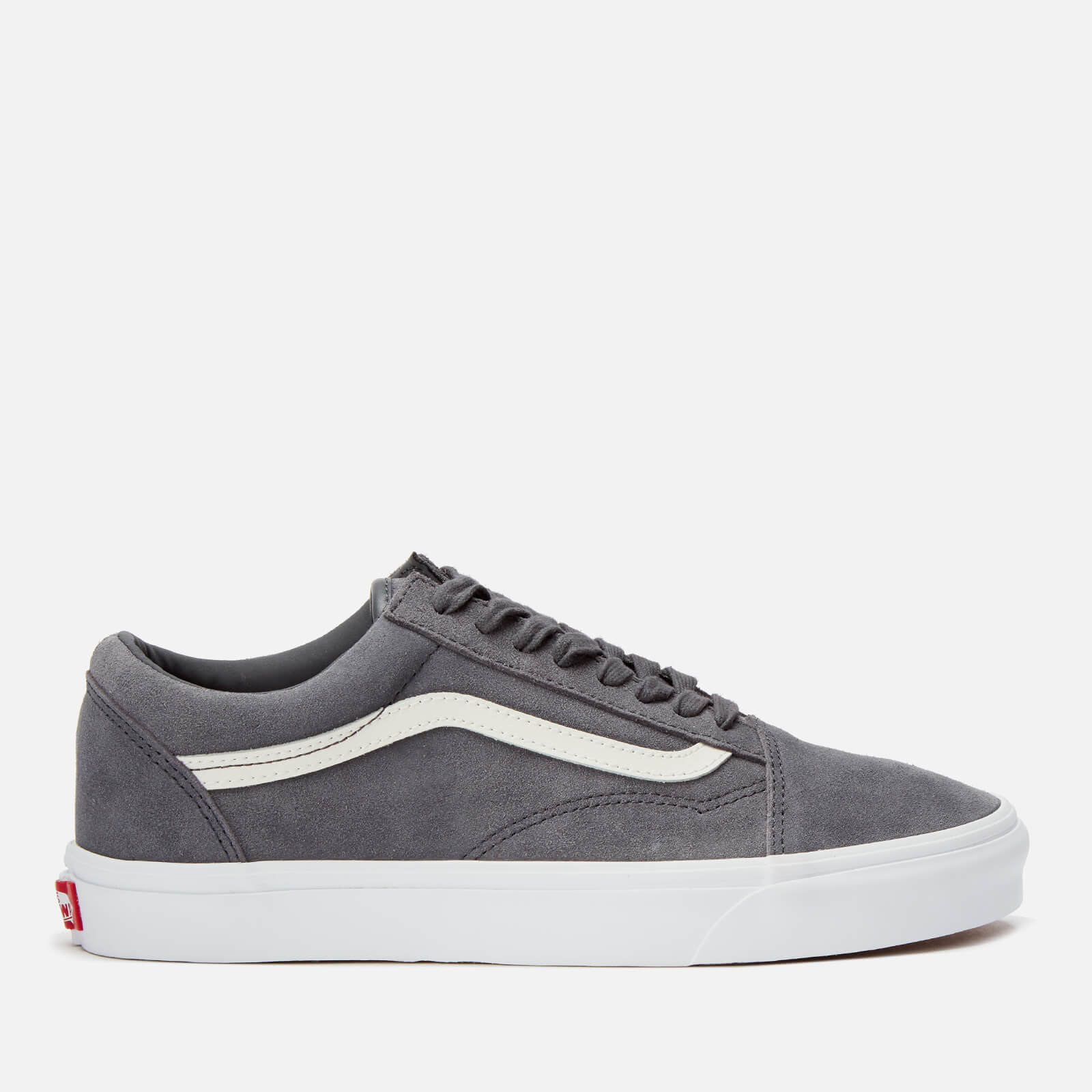 Vans Men's Soft Suede Old Skool Trainers EbonyTrue White