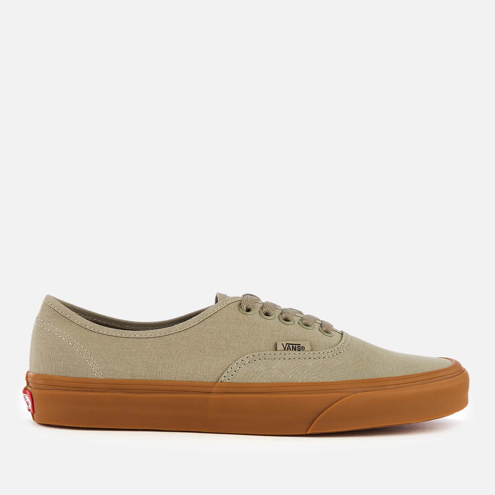 dc708296c3 Vans Men s Authentic Trainers - Laurel Oak Gum Mens Footwear ...