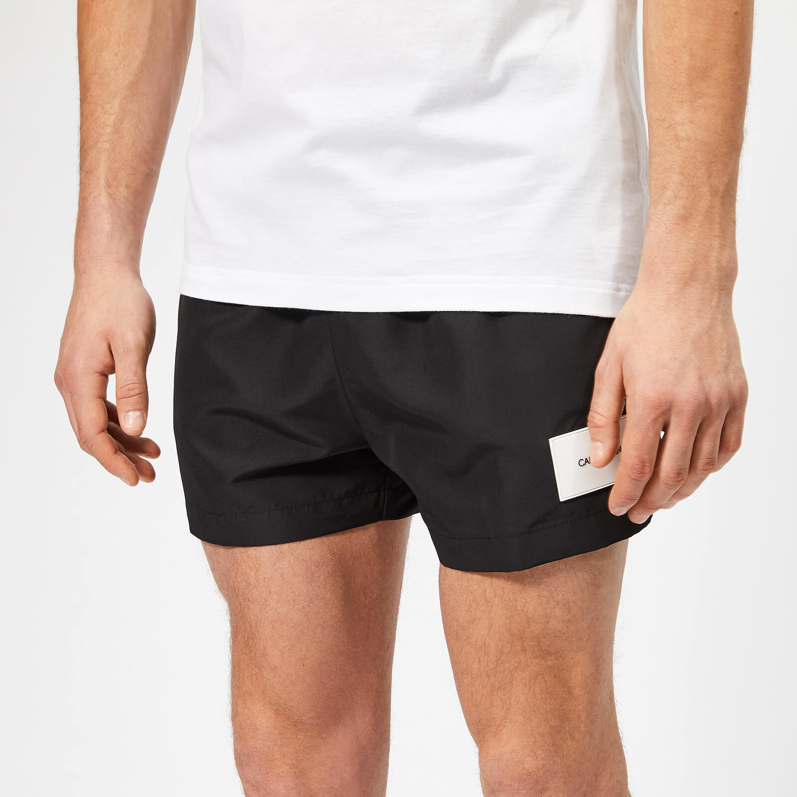 more photos f2afd 9ceb2 Calvin Klein Men's Short Swim Shorts - Black