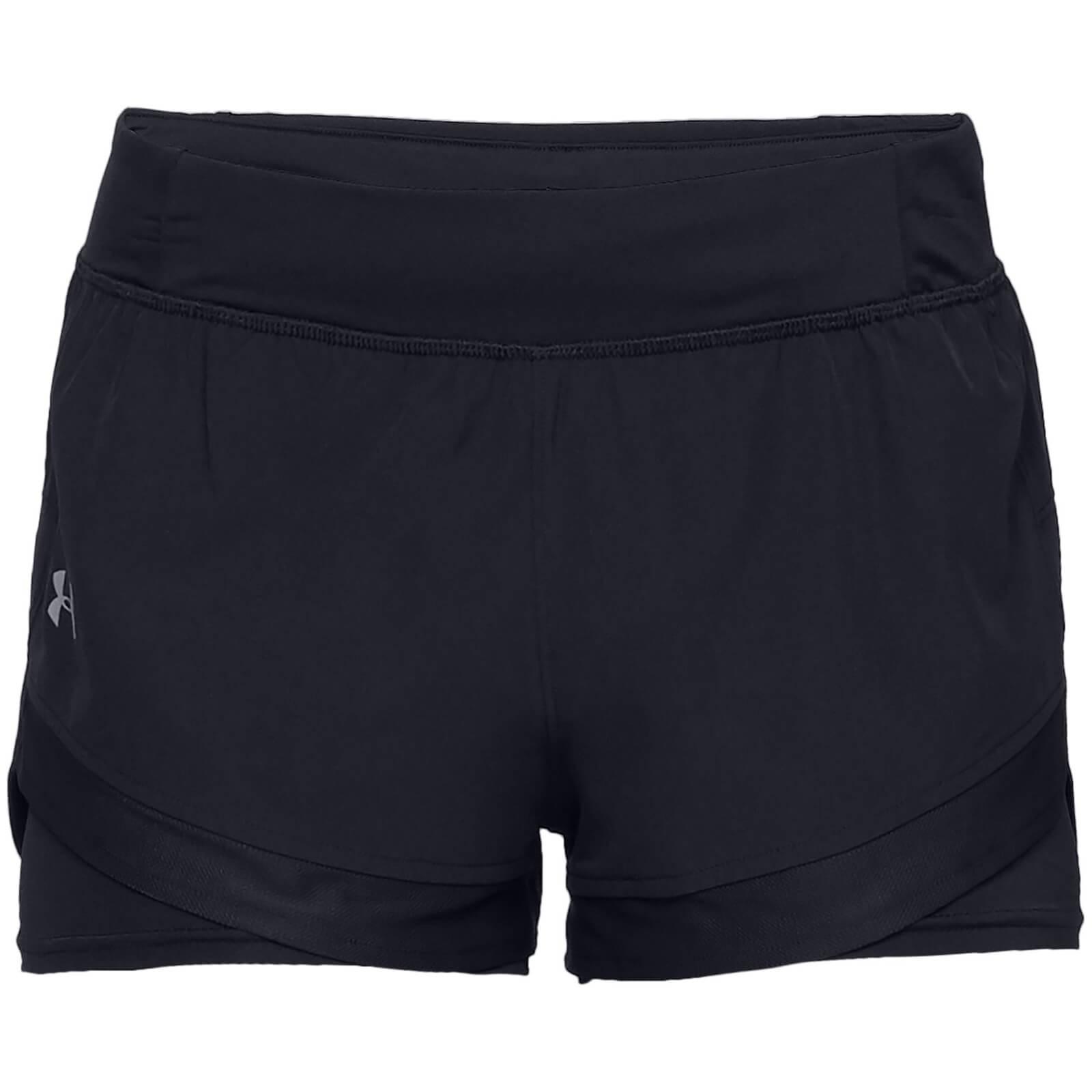 757ec30bbb Under Armour Women's Qualifier Speed Pocket 2-in-1 Shorts - Black