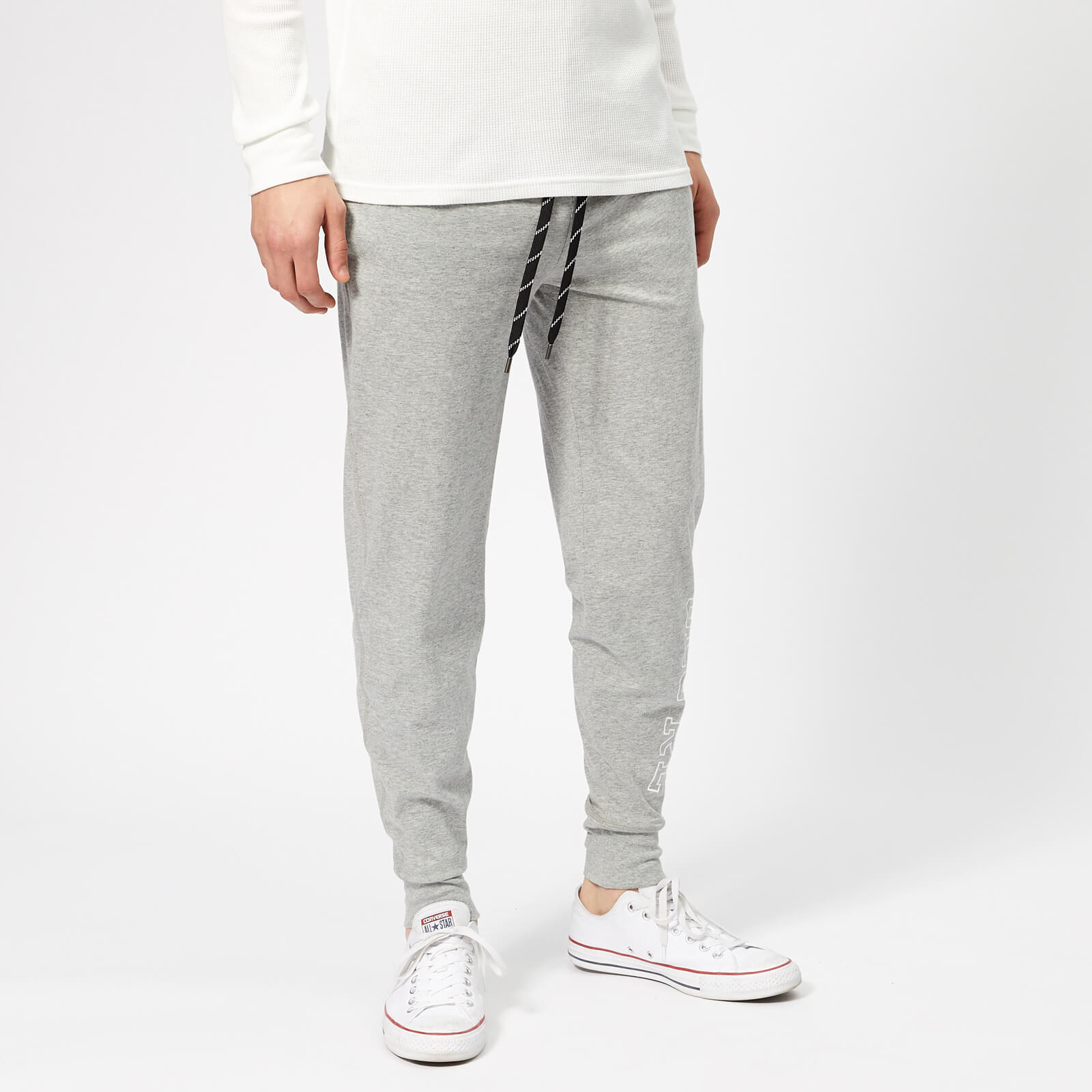 34a9a07bb12 Polo Ralph Lauren Men s Cotton Joggers - Andover Heather - Free UK Delivery  over £50