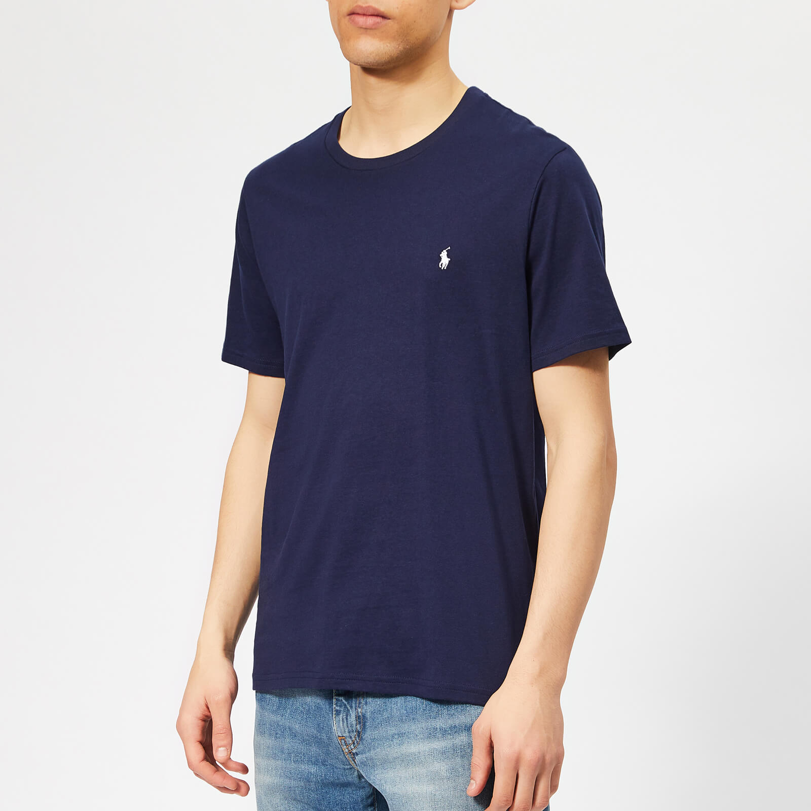 773c0a85 Polo Ralph Lauren Men's Liquid Cotton Jersey T-Shirt - Cruise Navy - Free  UK Delivery over £50