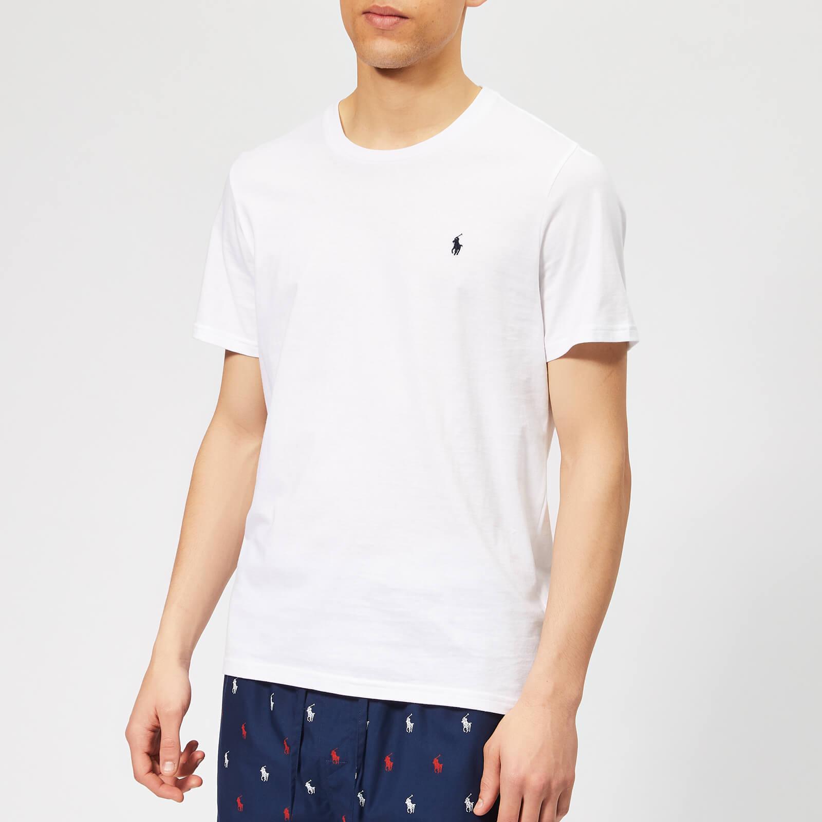 099da21c440 Polo Ralph Lauren Men s Liquid Cotton Jersey T-Shirt - White Clothing