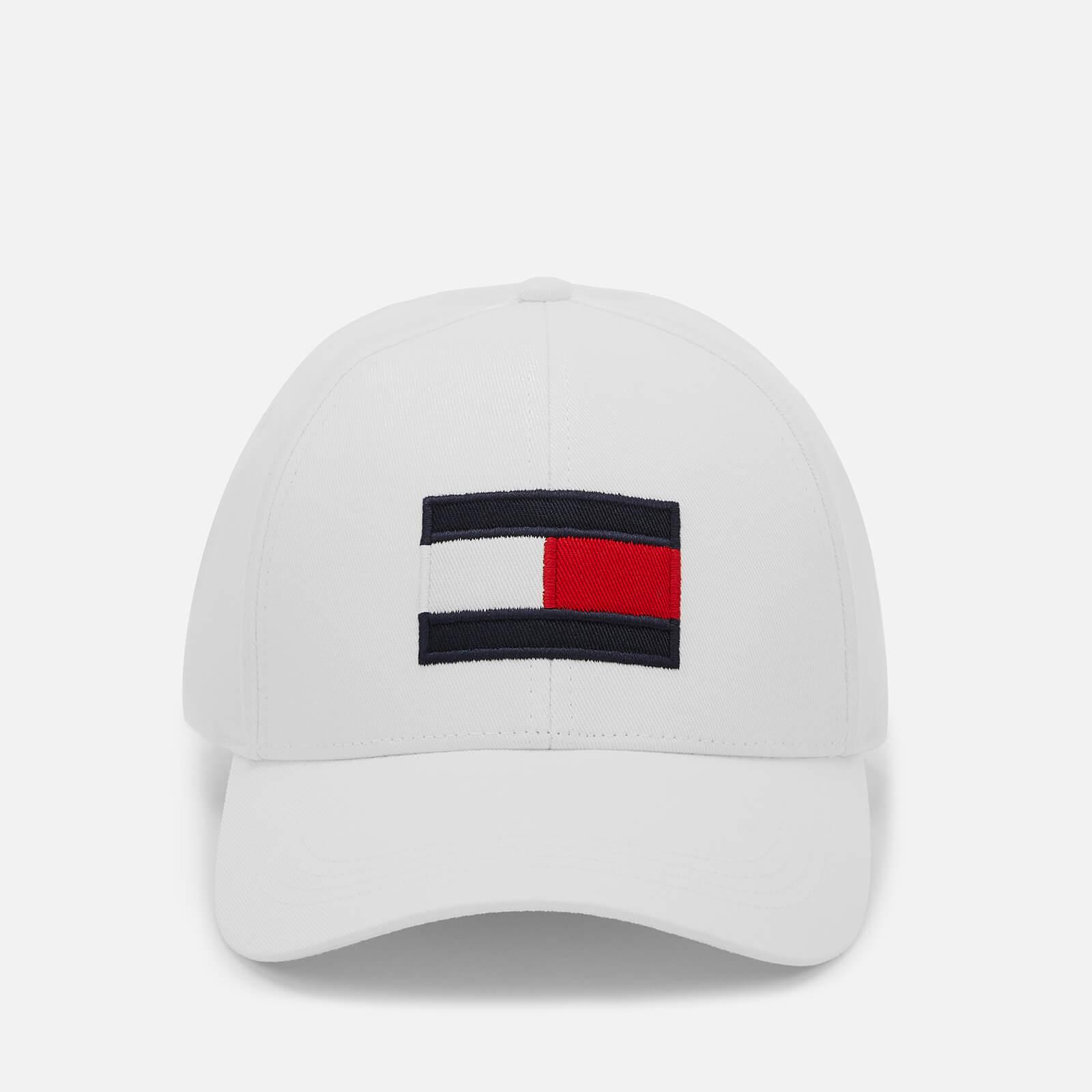 b5b02440738dc Tommy Hilfiger Men s Large Flag Baseball Cap - Bright White Mens  Accessories