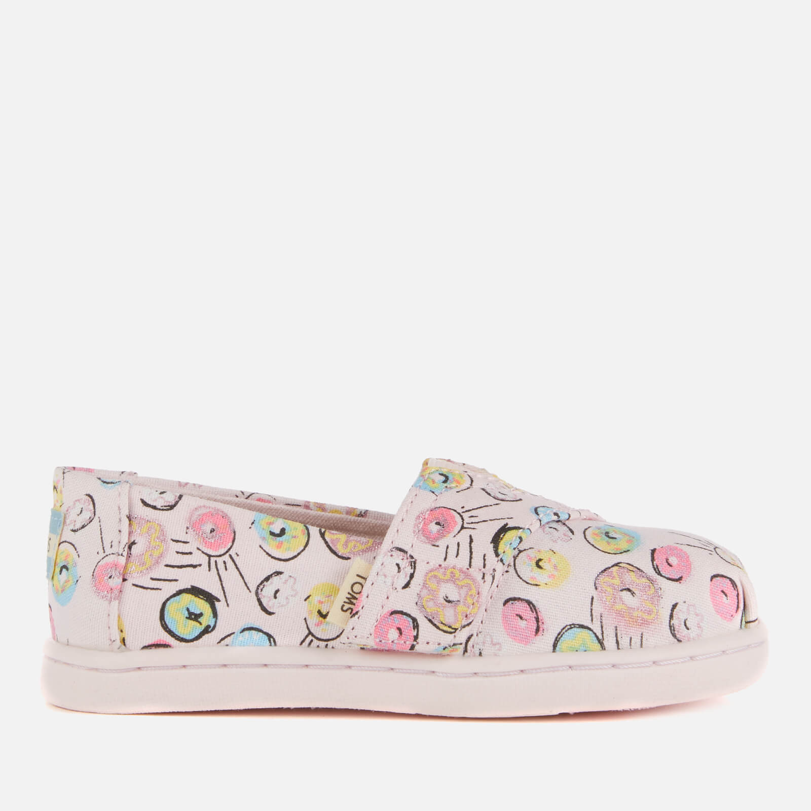 056f107cdbc TOMS Toddlers' Alpargata Vegan Slip-On Pumps - Pink Donuts Junior Clothing  | TheHut.com