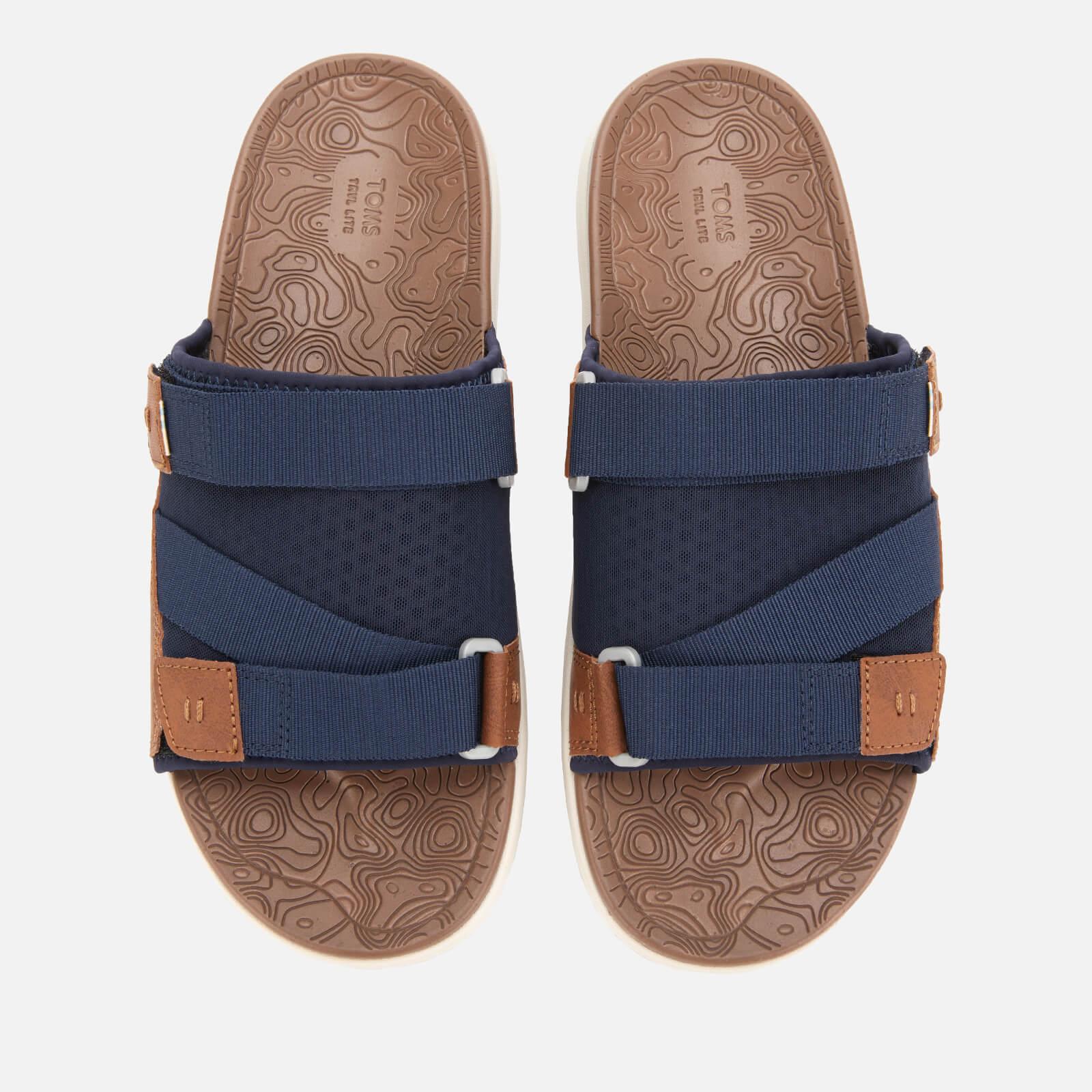 7d48ec888cc TOMS Men s Trvl Vegan Lite Sandals - Navy Mens Footwear