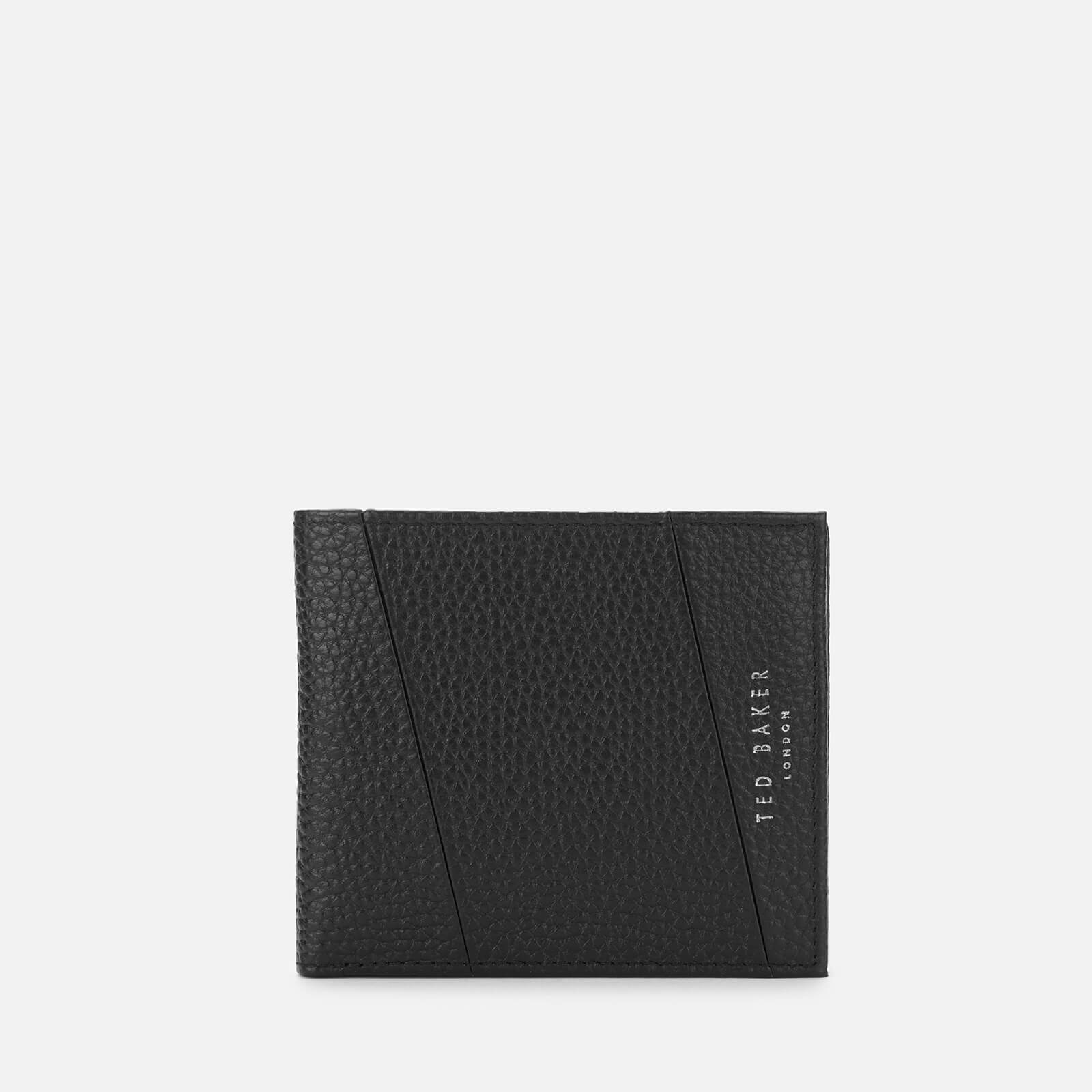 8627b9a6a8 Ted Baker Men's Fiters Seamed Leather Bifold Wallet - Black