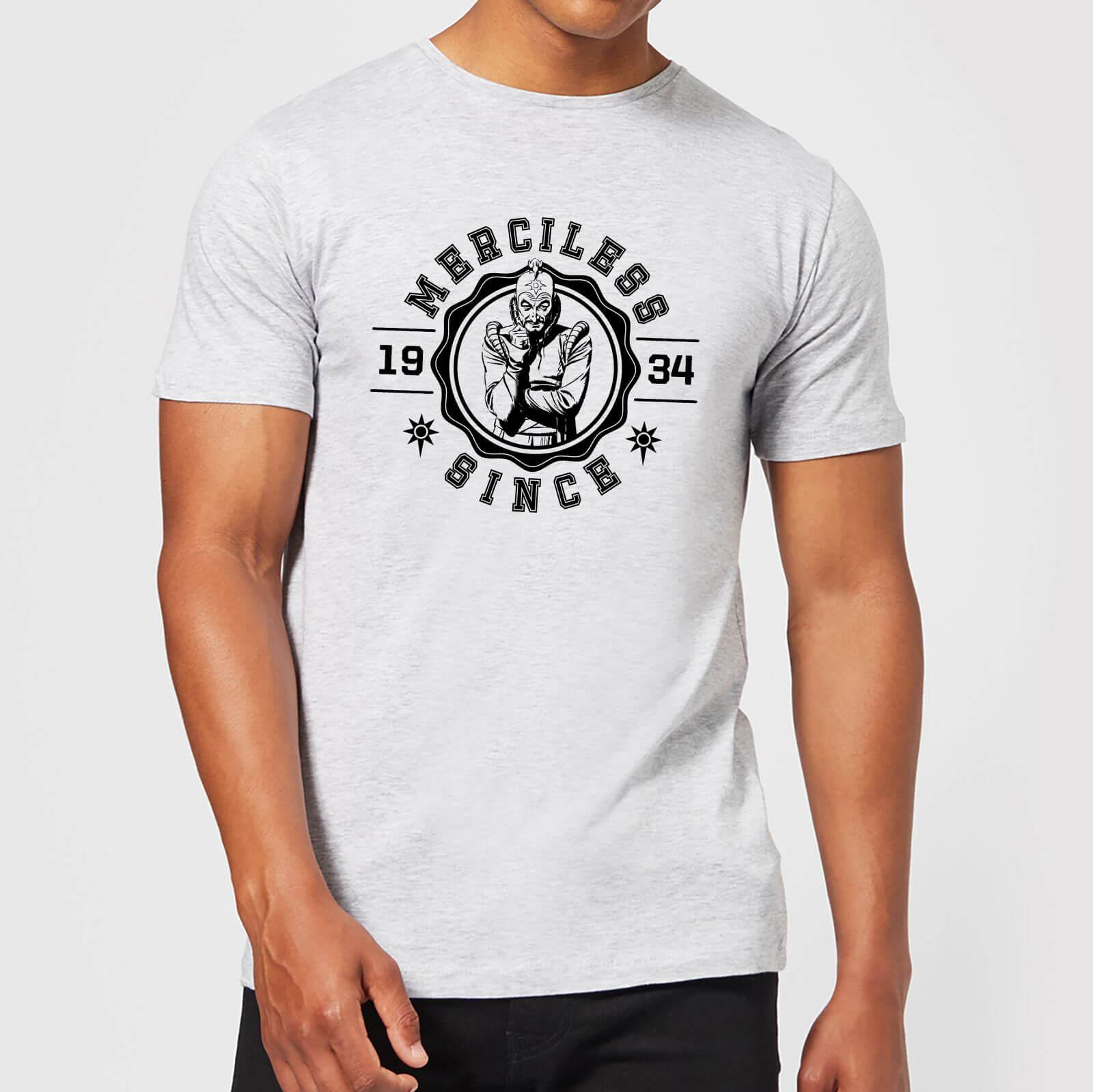 44e1d9d138c93 Flash Gordon Merciless Since  34 Men s T-Shirt - Grey Clothing