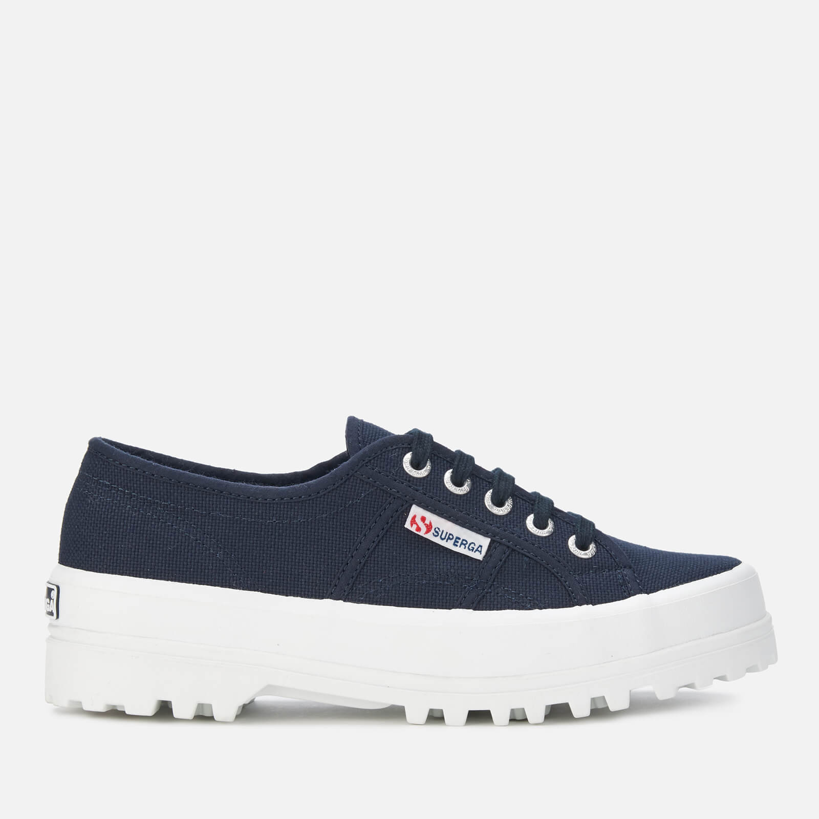 Superga Women's 2555 Cotu Trainers - Navy