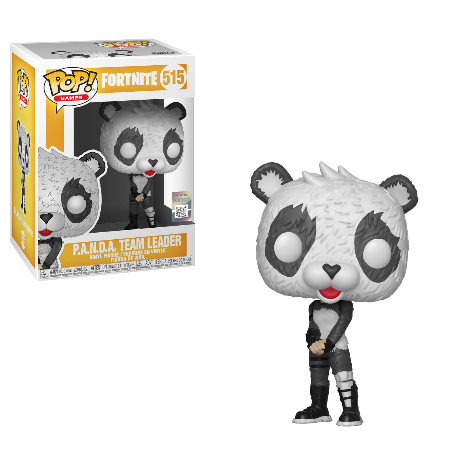 Vinyl Character Figure POP Fortnite Game Panda Team Leader Funko Pop