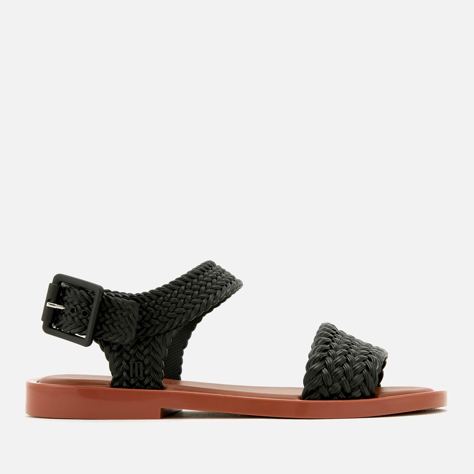 Melissa Women's Salinas Mar Braid Double Strap Sandals - Black - UK 8 - Black