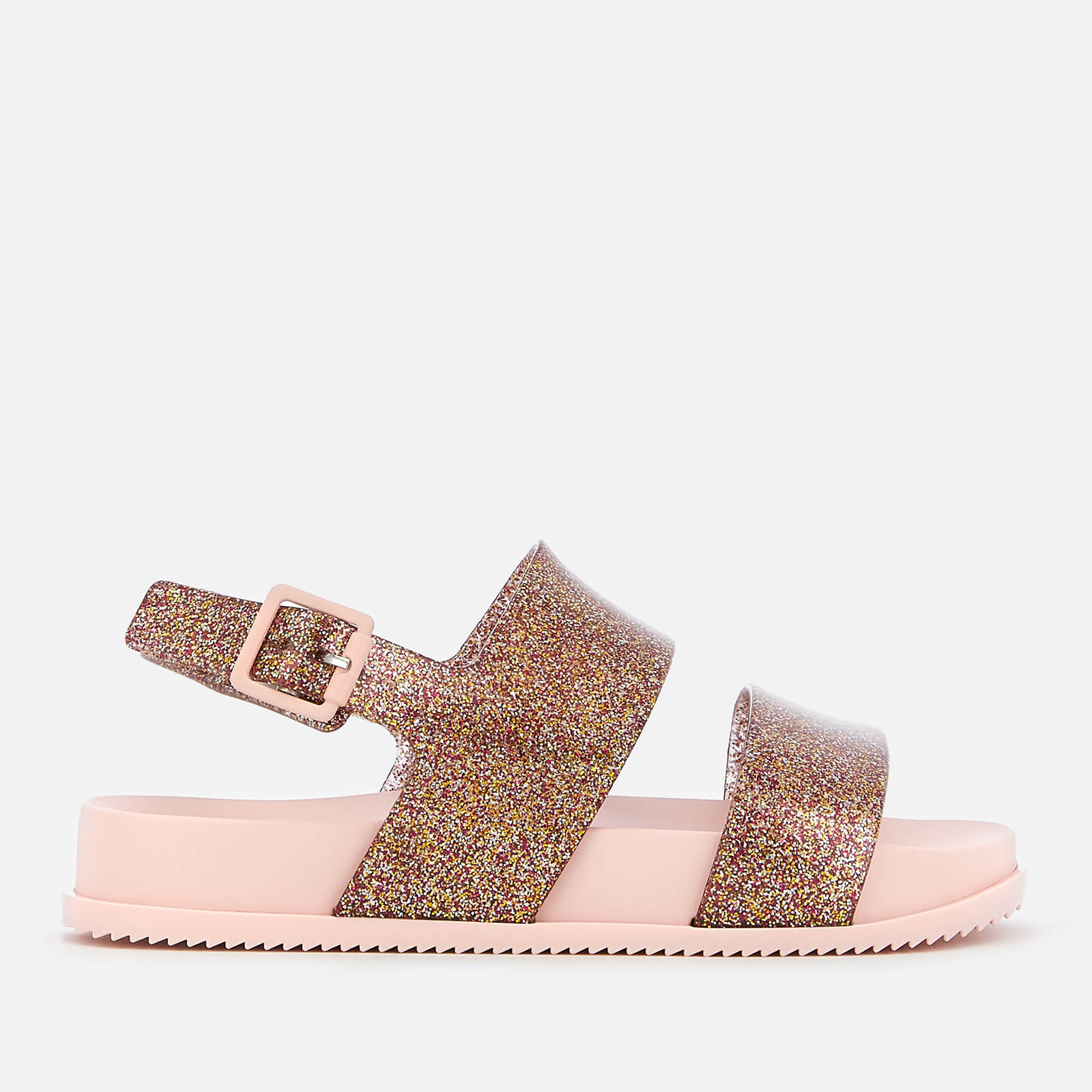 07be155bef Mini Melissa Kids' Cosmic Double Strap Sandals - Rose Glitter