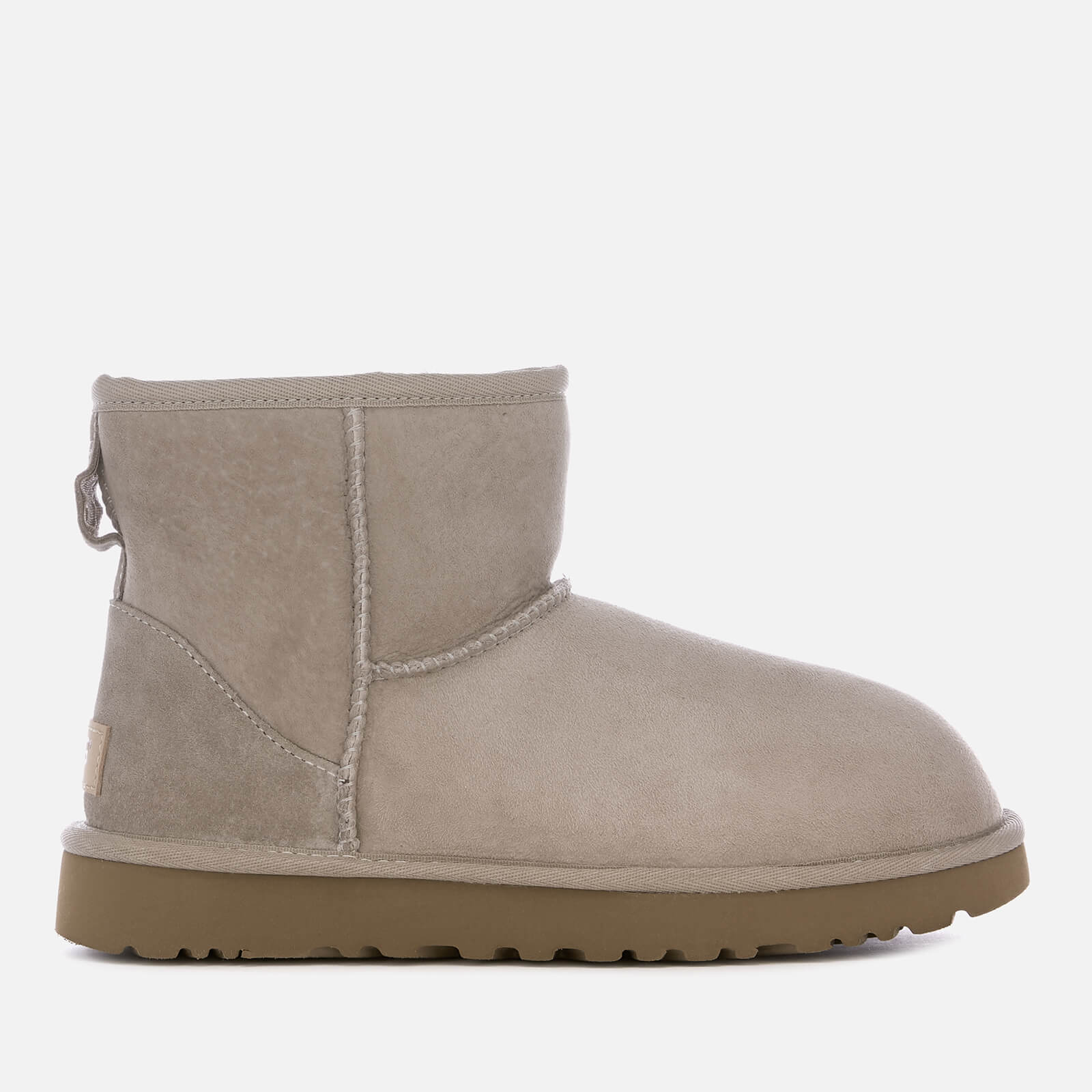 Ugg Womens Classic Mini Ii Sheepskin Boots Oyster Clothing