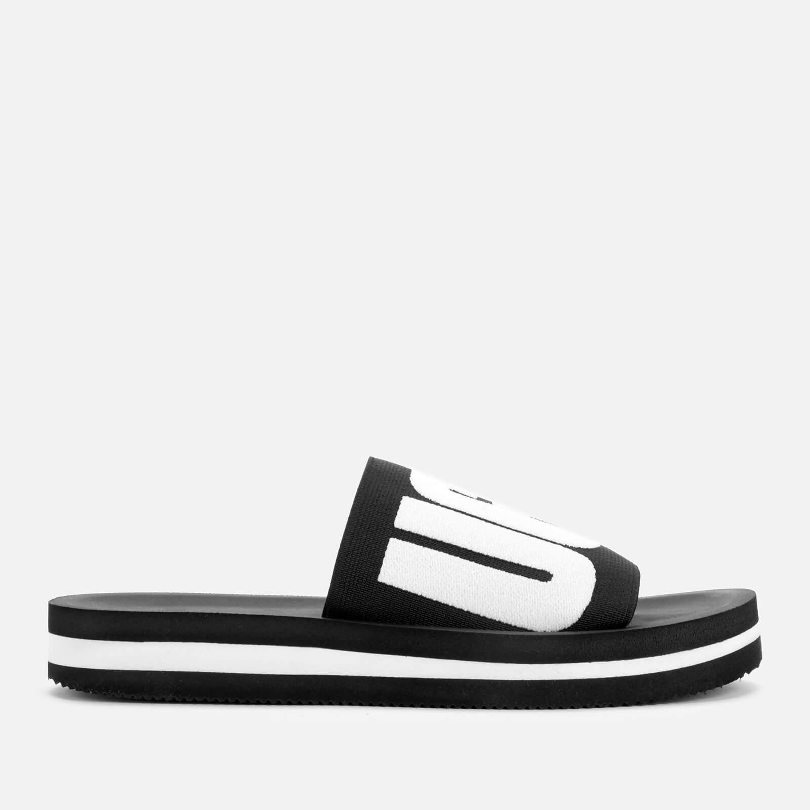 3f92a860b UGG Women's Zuma Graphic Slide Sandals - Black | FREE UK Delivery | Allsole