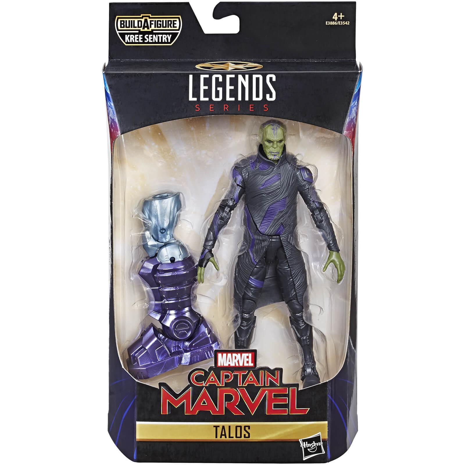 Hasbro Marvel Legends Series Captain Marvel 6 Inch Talos Skrull