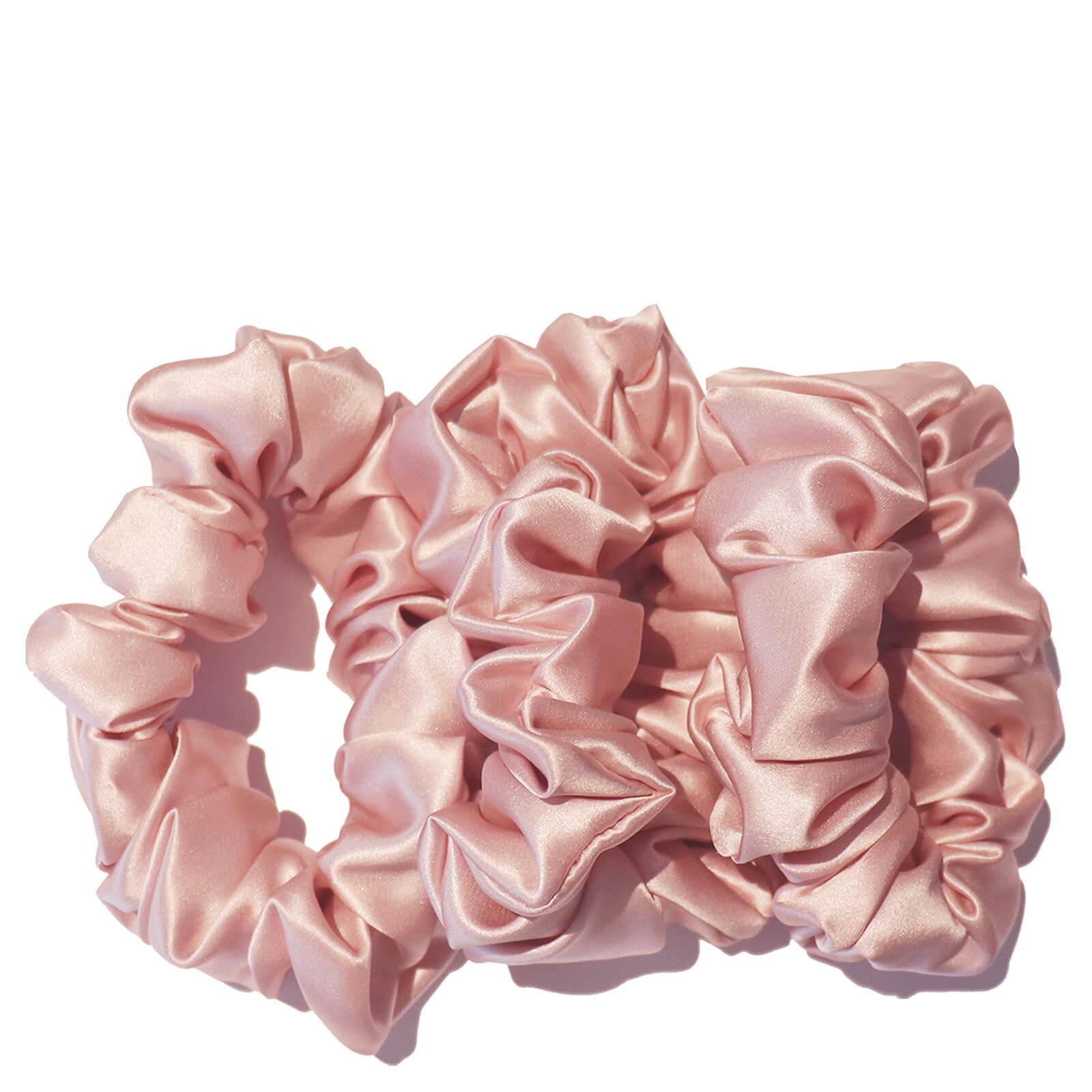 Slip Silk Large Scrunchies   Pink (Pack Of 3) by Slip