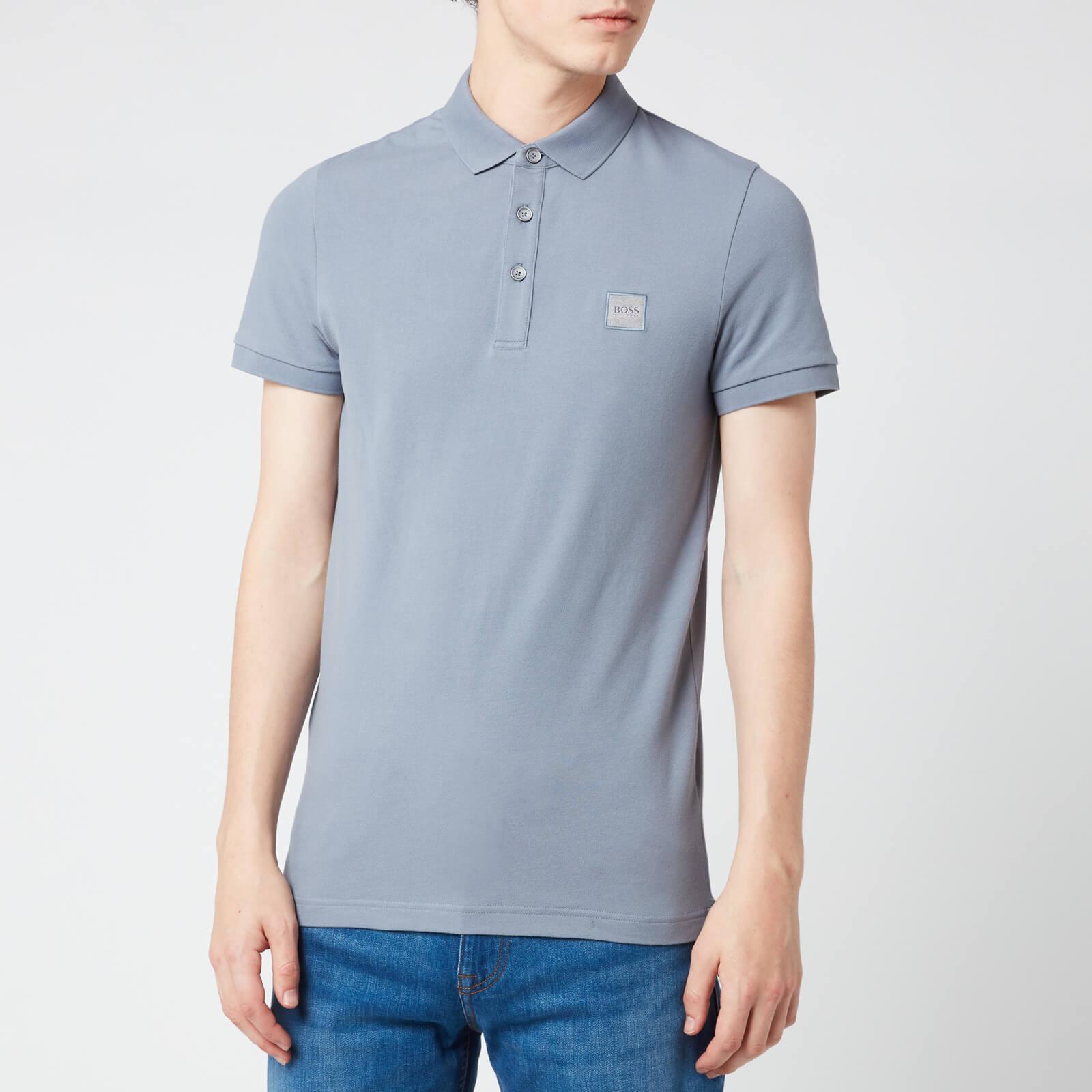 d30b9e6e1 BOSS Men's Passenger Polo Shirt - Open Blue Clothing | TheHut.com