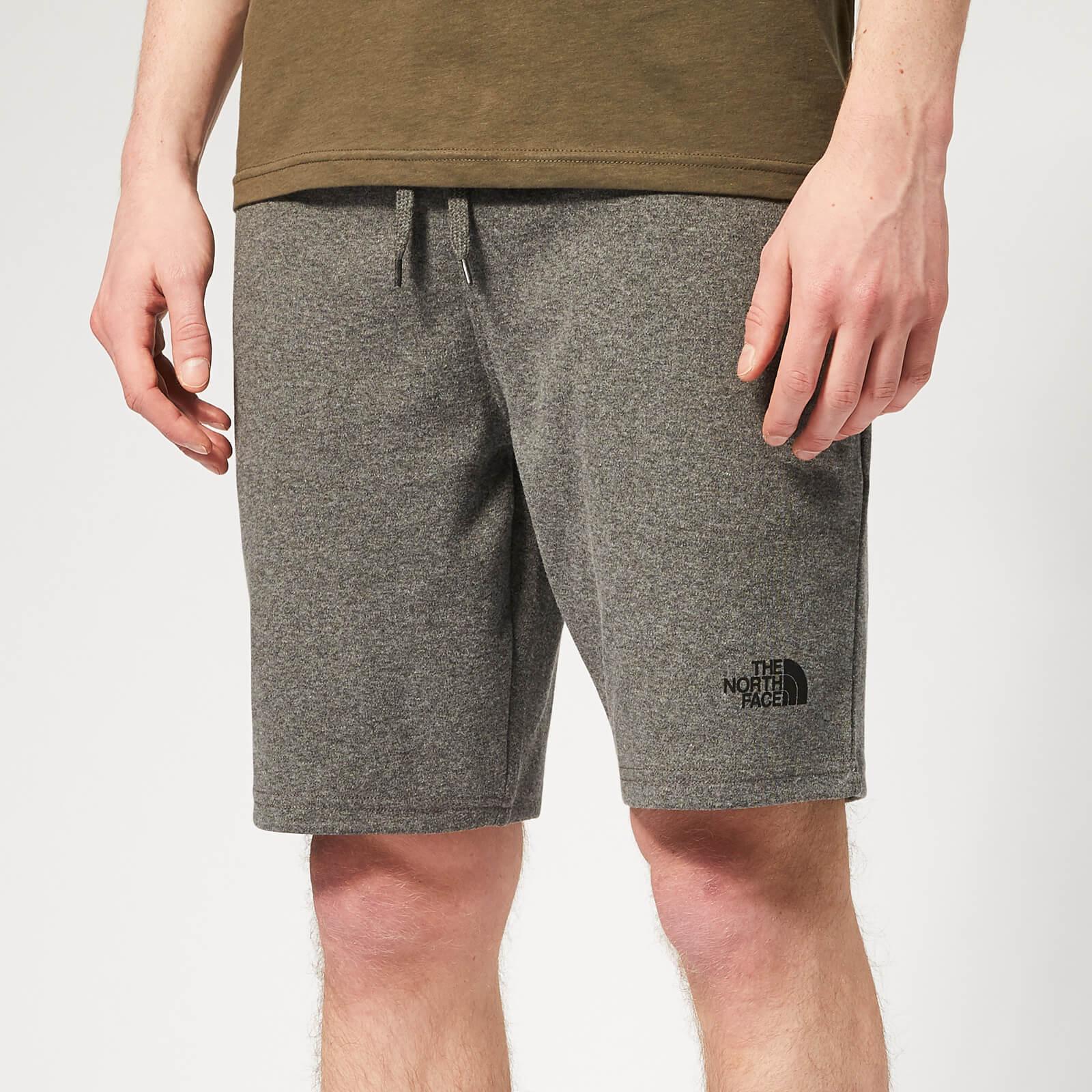 6071d8b64 The North Face Men's Standard Graphic Light Shorts - Medium Grey Heather