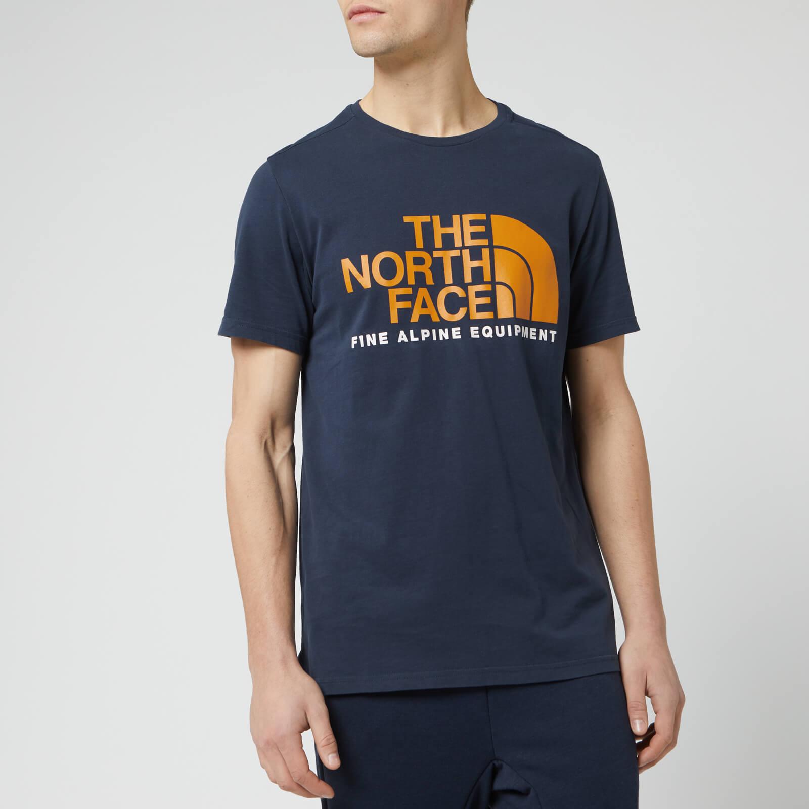 49ce2c1d9 The North Face Men's Fine Alpine Short Sleeve T-Shirt - Urban Navy