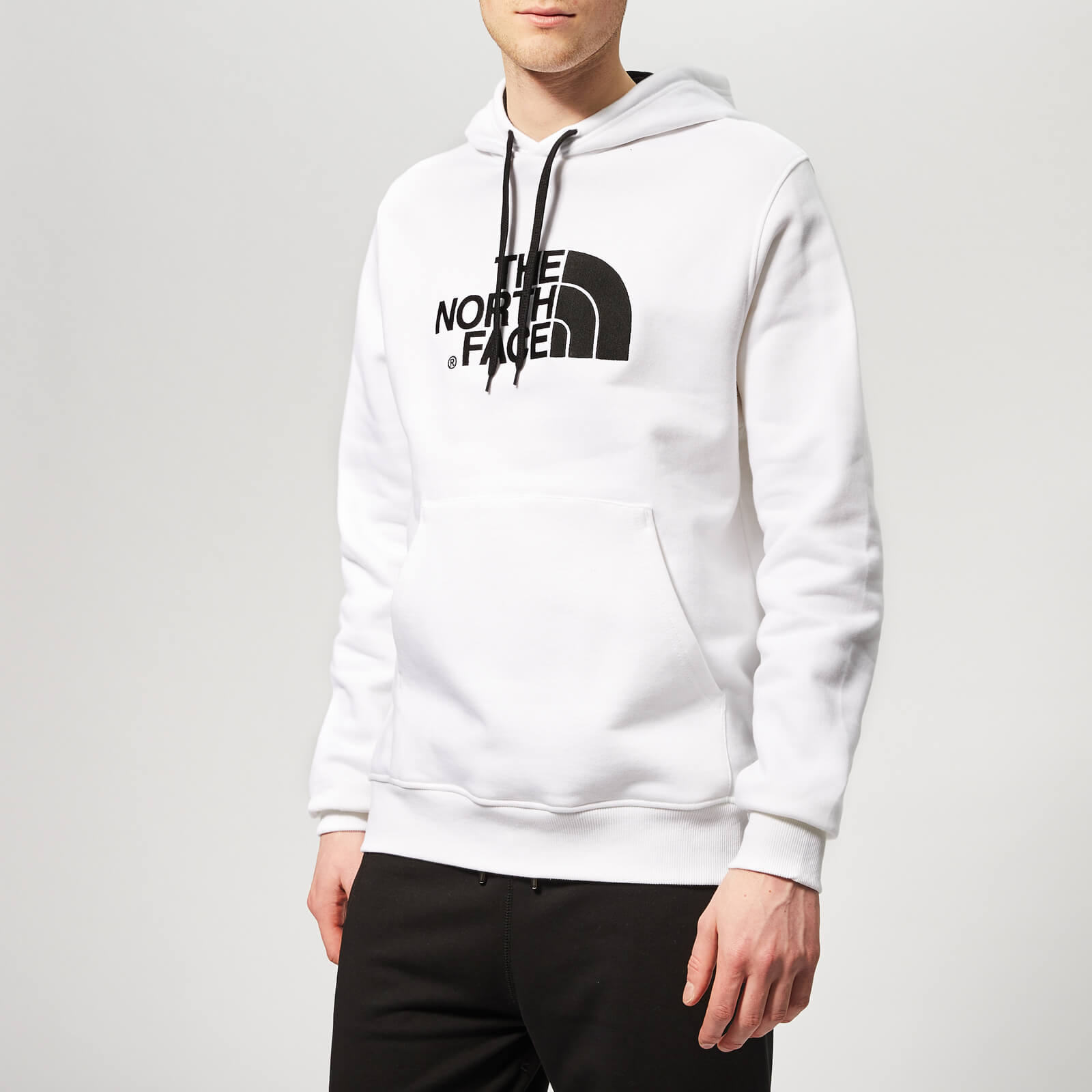 bb5708685 The North Face Men's Drew Peak Pullover Hoody - TNF White