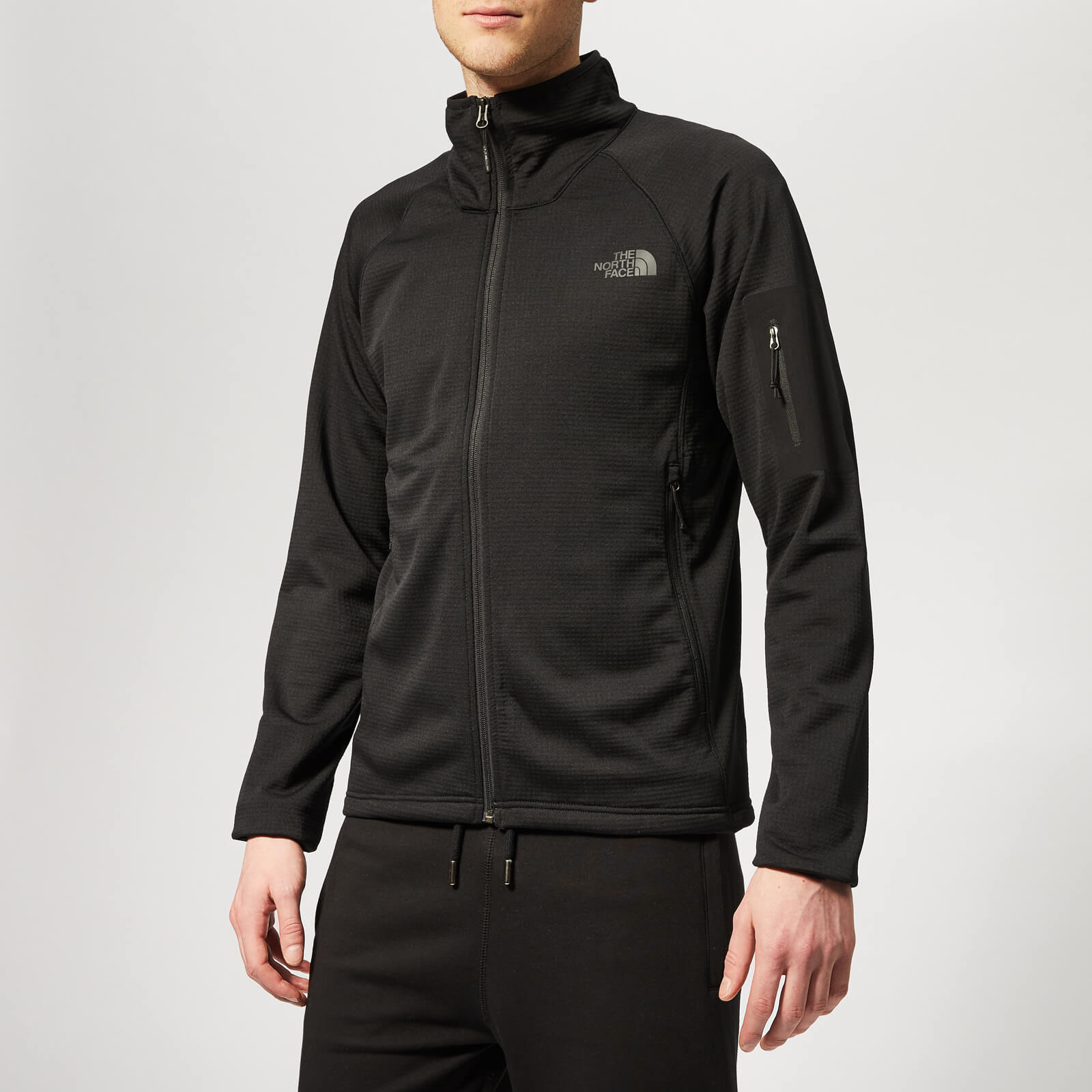 b7d79972a The North Face Men's Borod Full Zip Jacket - TNF Black