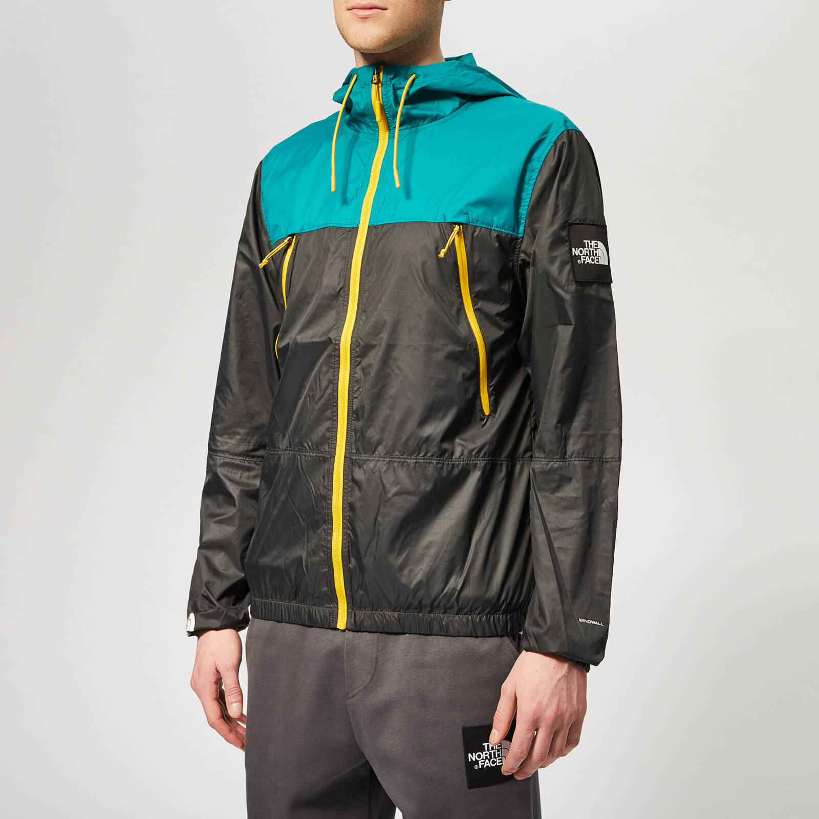 e377ad5b2 The North Face Men's 1990 Seasonal Mountain Jacket - Asphalt Grey/Everglade