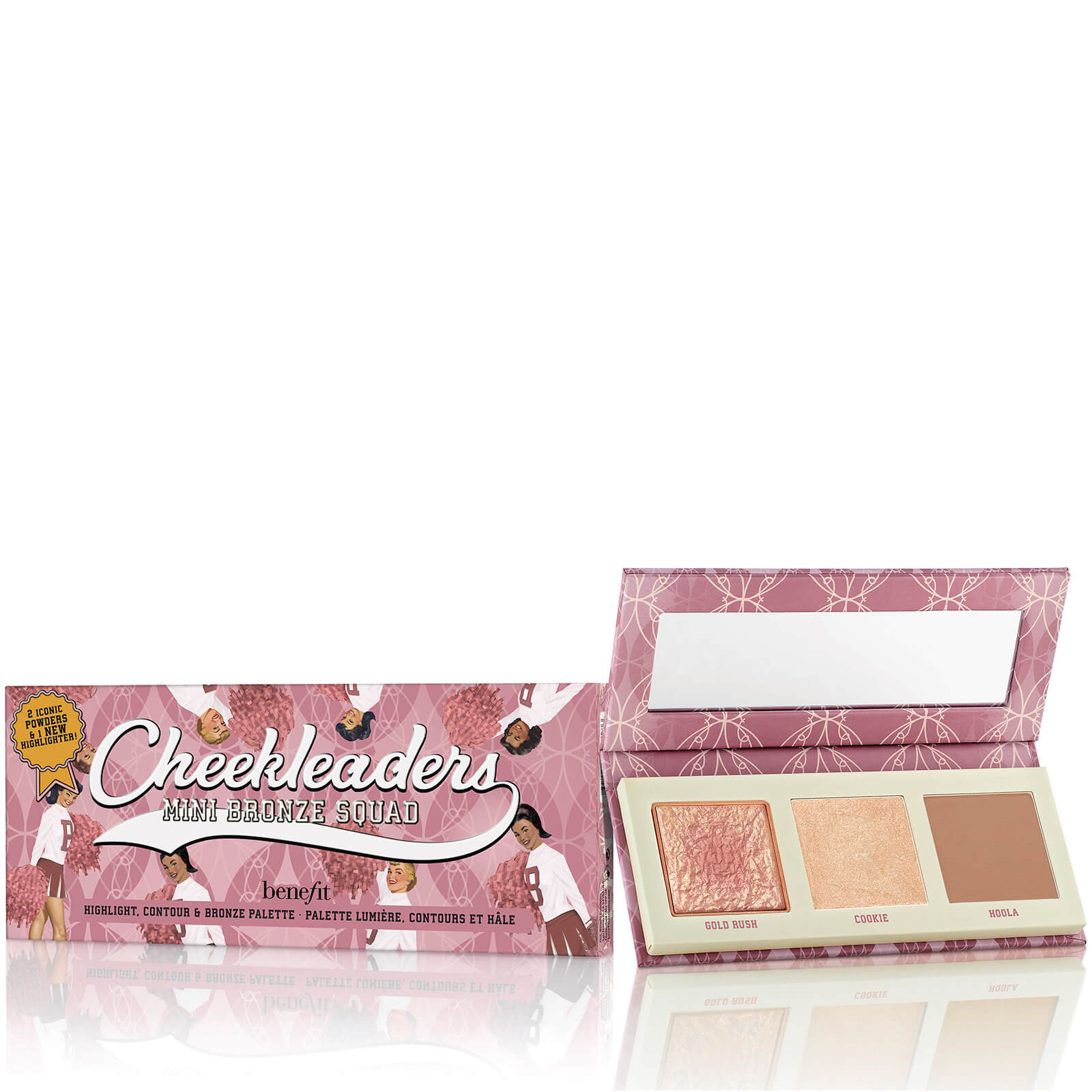 benefit Cheekleaders Mini Bronze Squad Palette | Free Shipping | Lookfantastic
