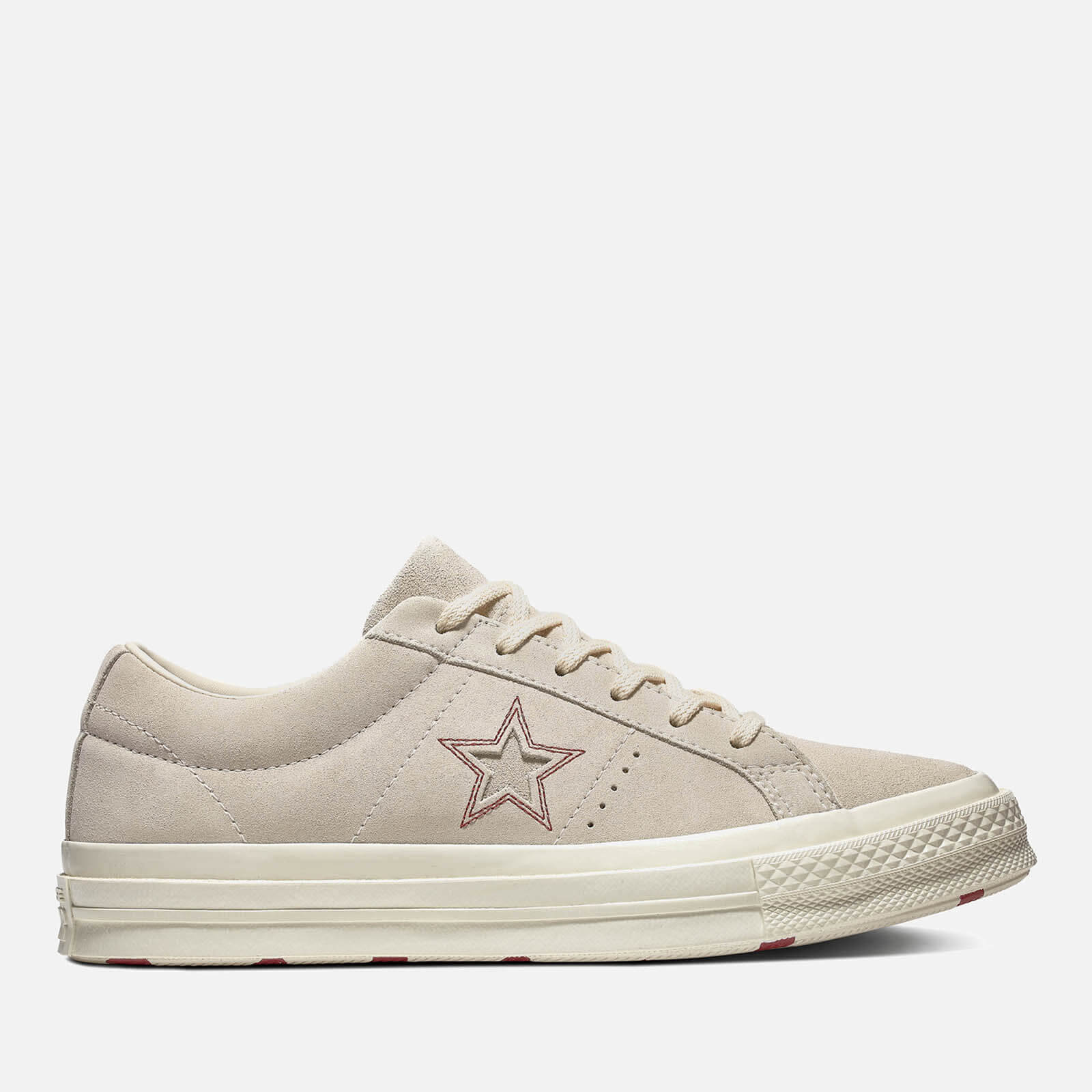 Converse Women's One Star Ox Trainers EgretRhubarb