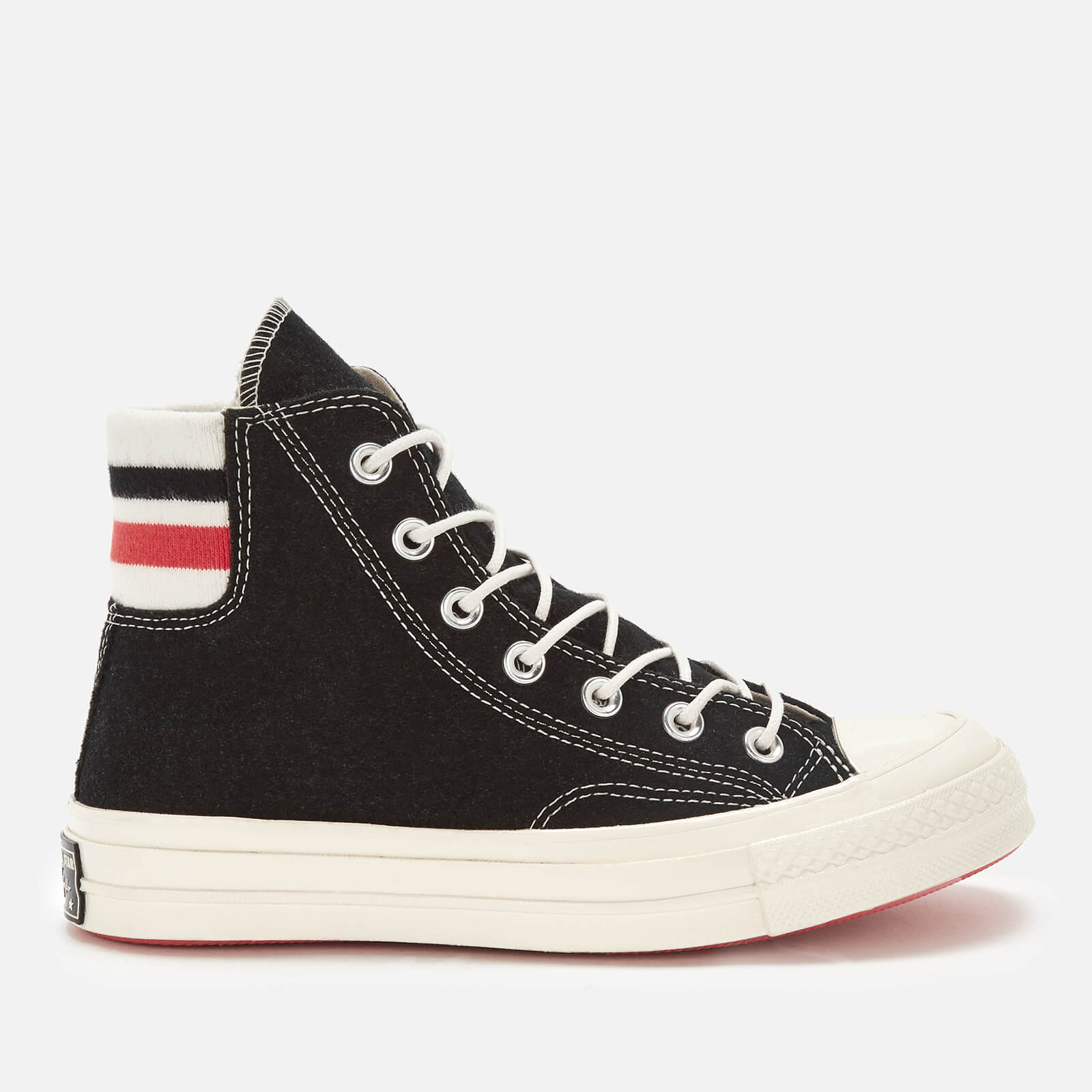 97e84a73cc0cae Converse Women s Chuck Taylor All Star 70 Hi-Top Trainers - Black Sedona  Red Egret - Free UK Delivery over £50