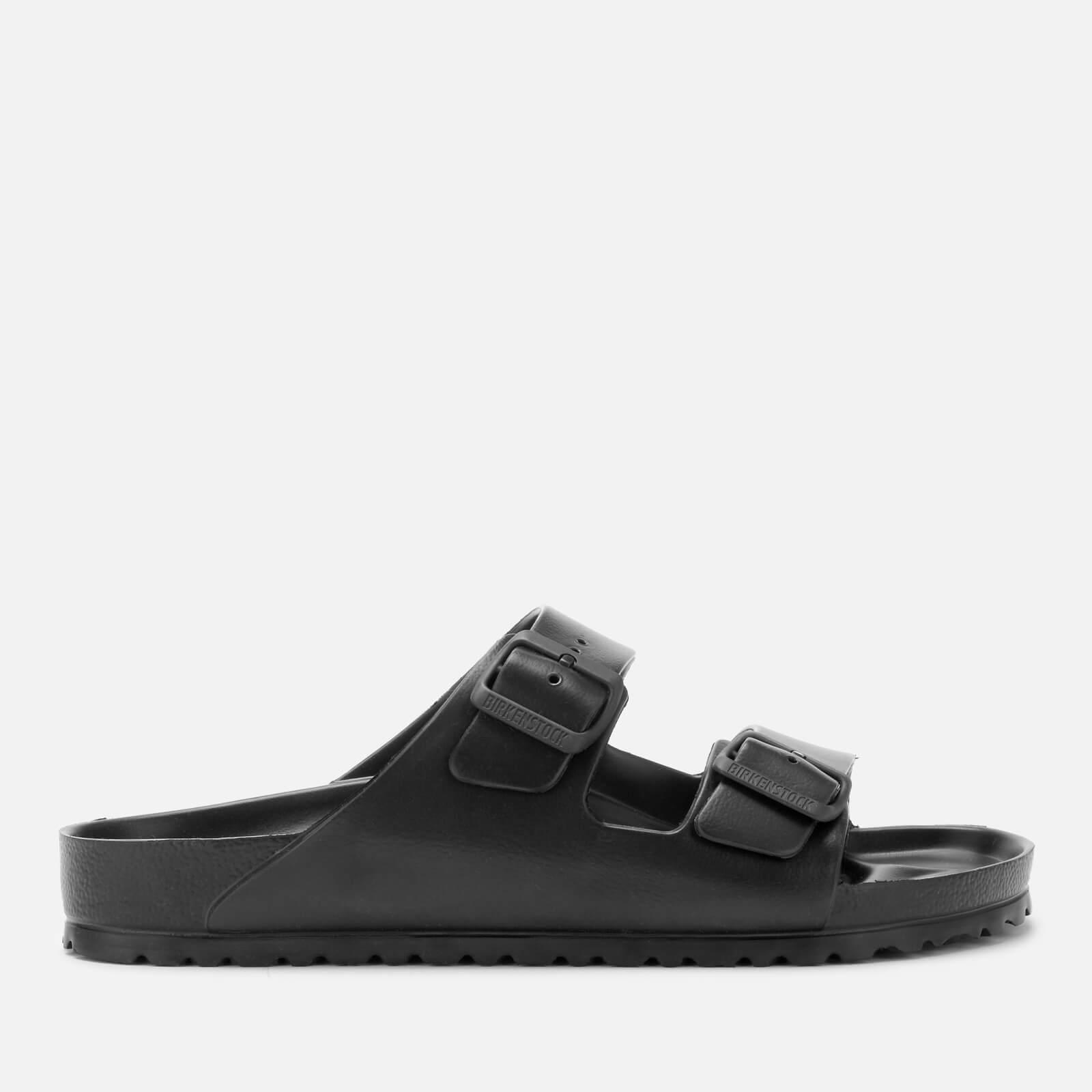 f5e2afd6da74 Birkenstock Men s Arizona EVA Double Strap Sandals - Black Mens Footwear