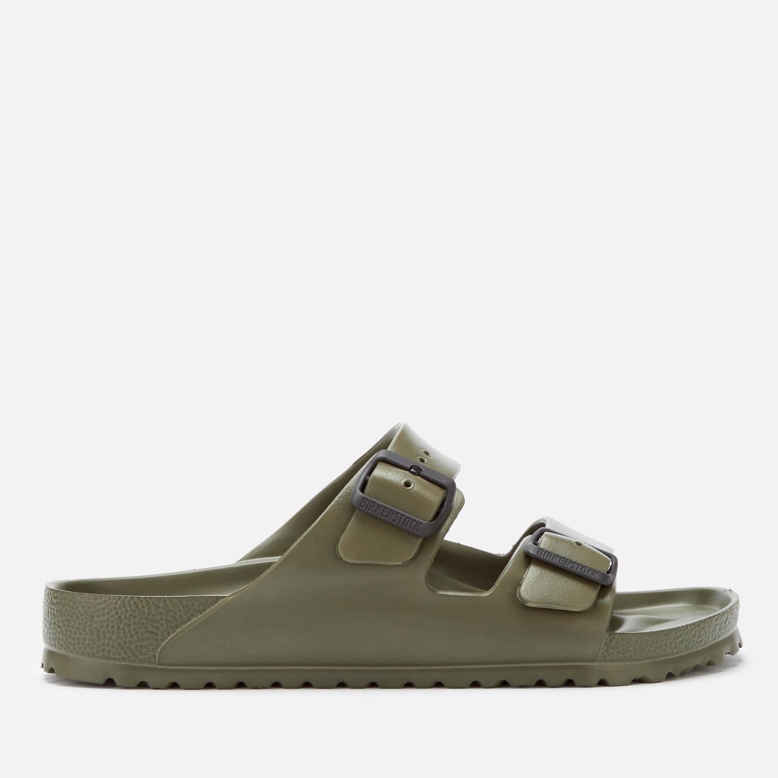 1ab5cadf7 Birkenstock Men's Arizona EVA Double Strap Sandals - Khaki Mens Footwear |  TheHut.com