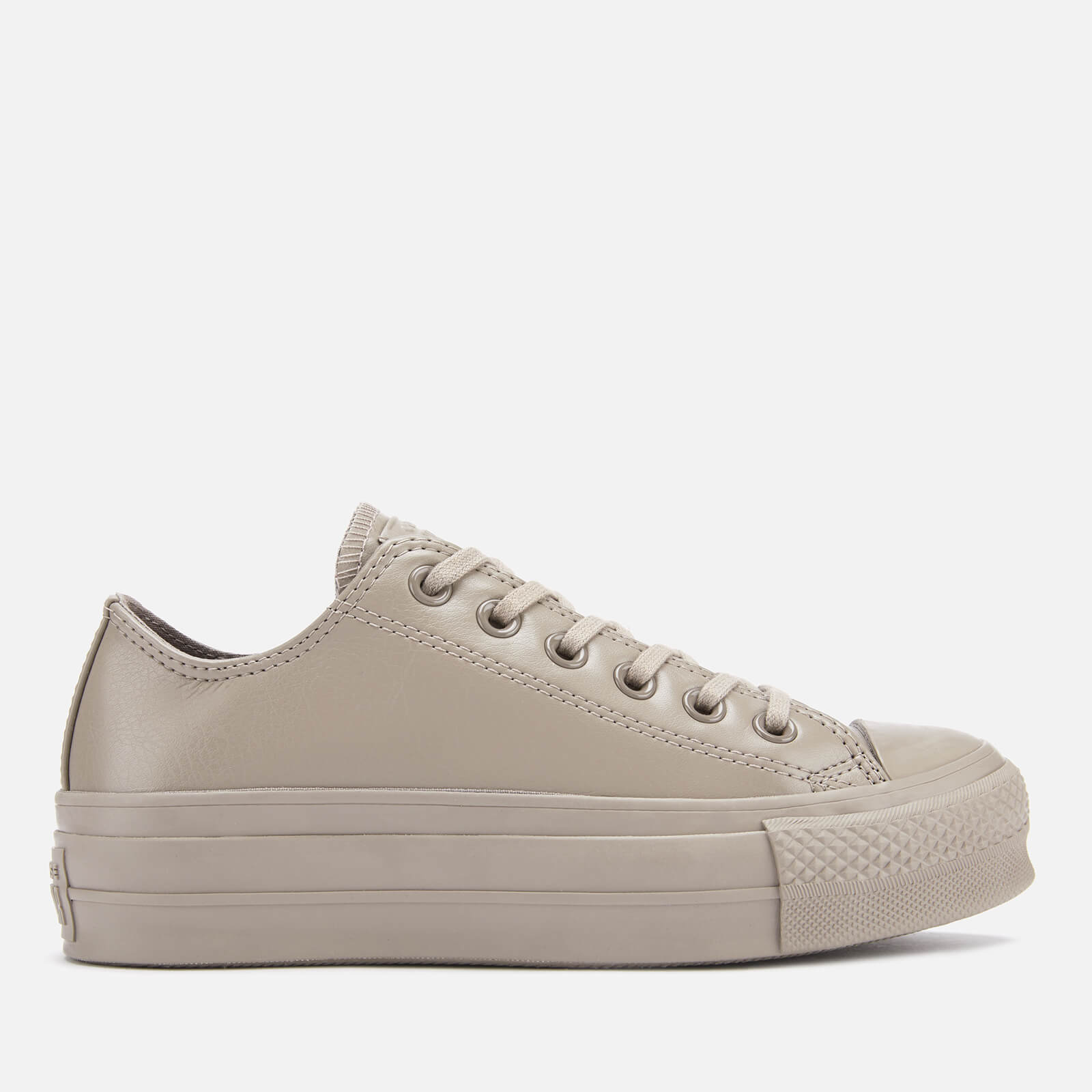 Converse Women's Chuck Taylor All Star Lift Ox Trainers Sepia StoneSepia Stone