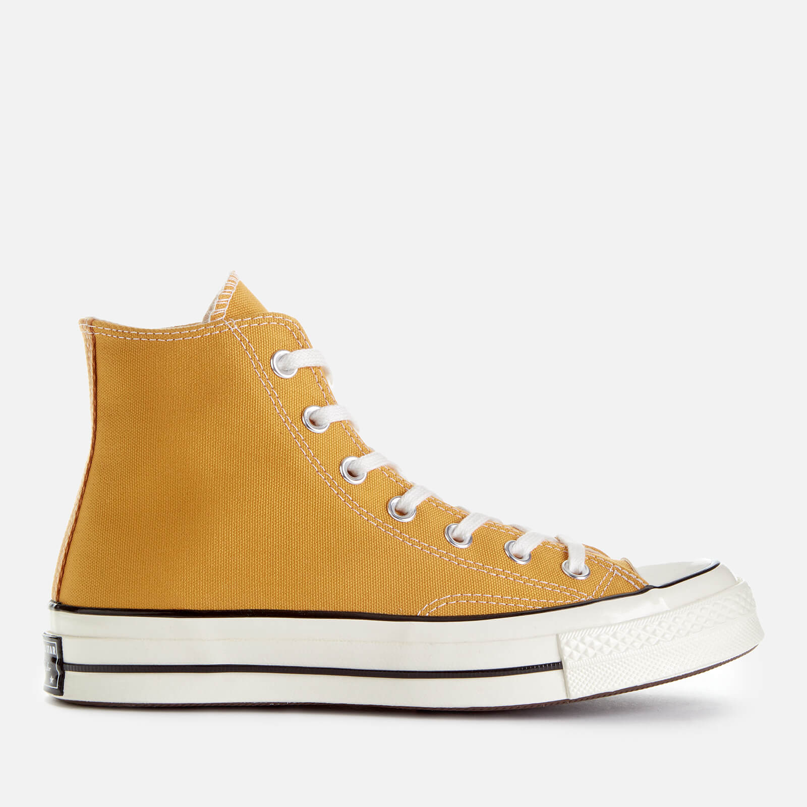aa9ebe49e55da9 Converse Chuck 70 Hi-Top Trainers - Sunflower Black Egret - Free UK ...