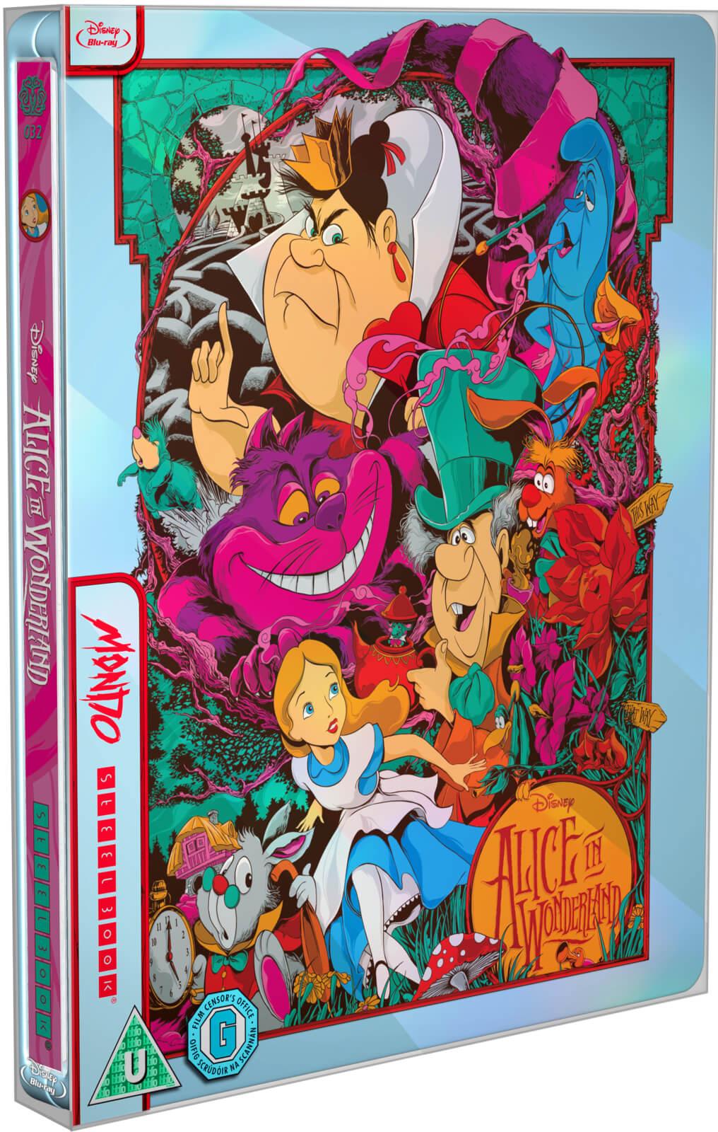 Alice in Wonderland - Mondo #32 Zavvi Exclusive Limited Edition Steelbook