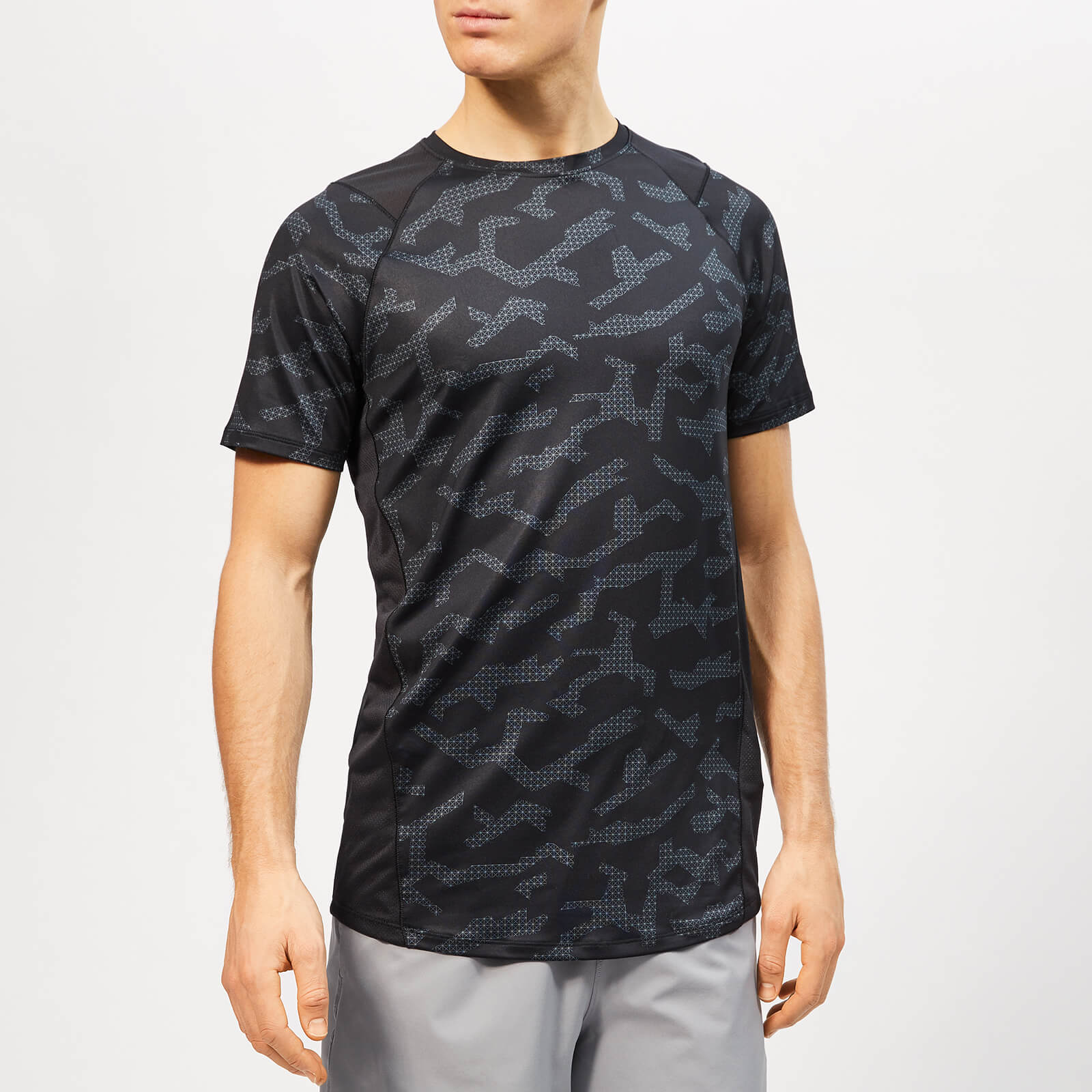 e6423601 Under Armour Men's MK-1 Short Sleeve Printed T-Shirt - Black