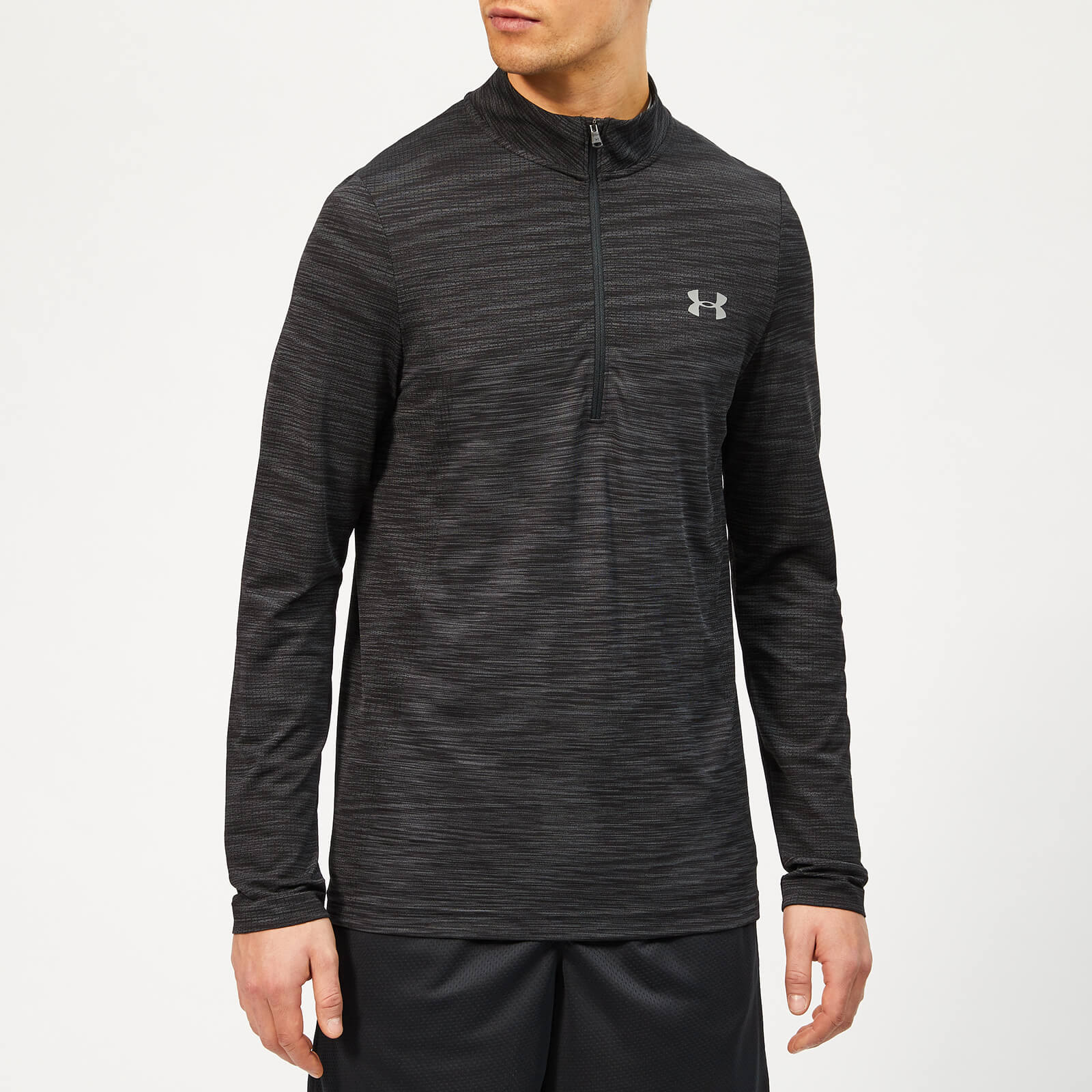 792dff14b Under Armour Men's Vanish Seamless 1/2 Zip Top - Black Sports & Leisure |  TheHut.com