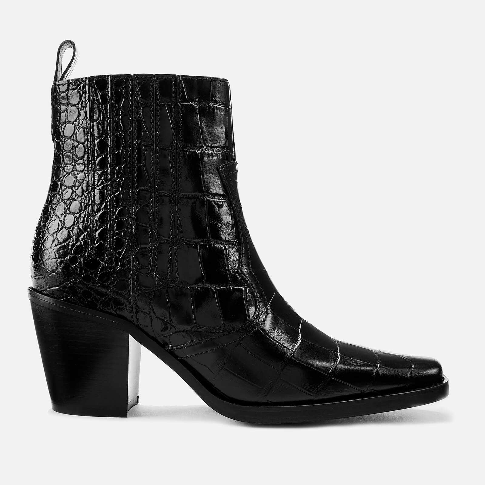 c1218ca45 Ganni Women s Western Boots - Black Ganni Women s Western Boots - Black