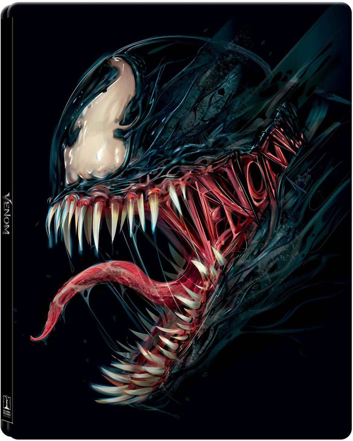 Venom Limited Edition Steelbook 4k Ultra Hd Includes Blu Ray Blu Ray Zavvi Australia