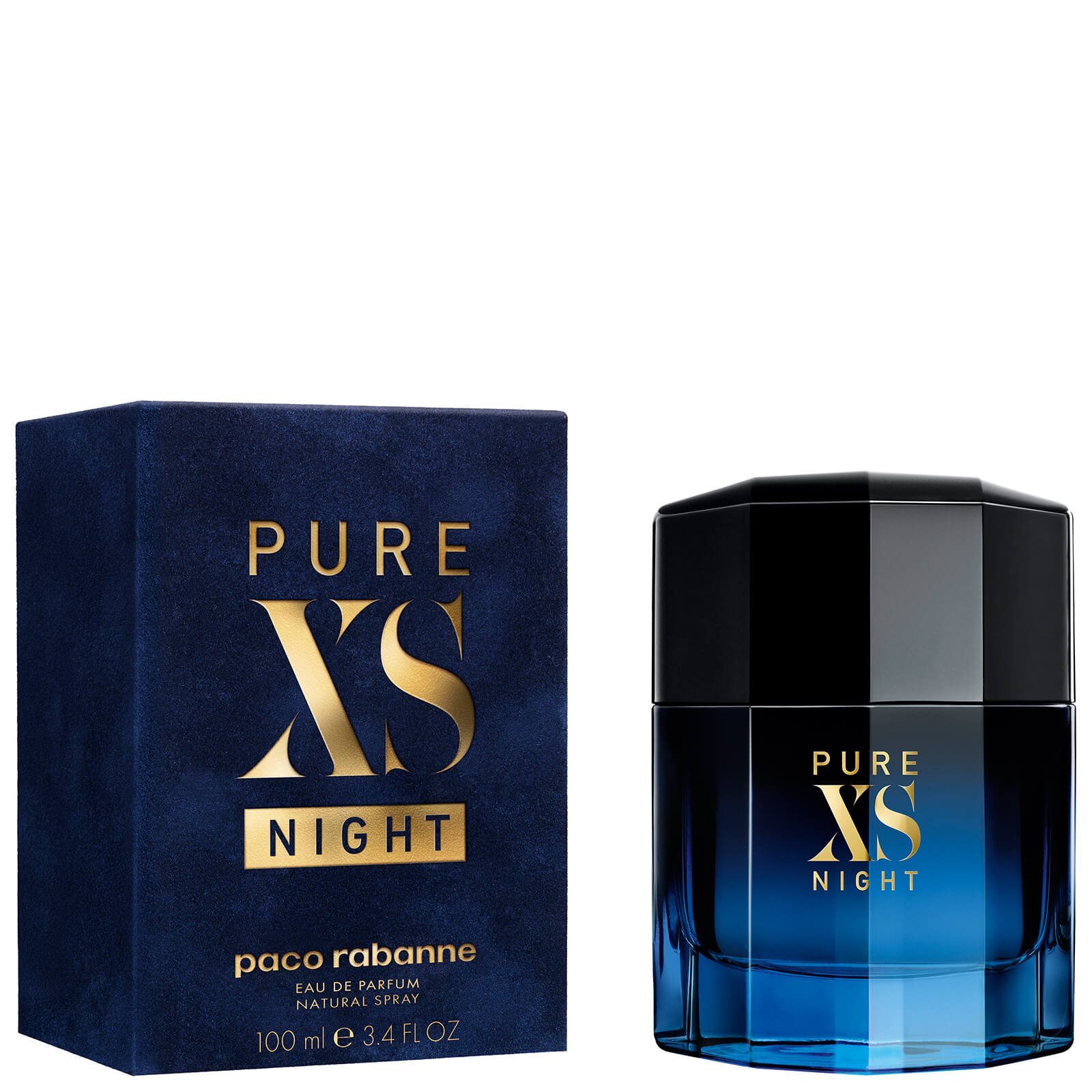 Paco Rabanne Pure Xs Night Eau De Parfum 100ml Free Shipping