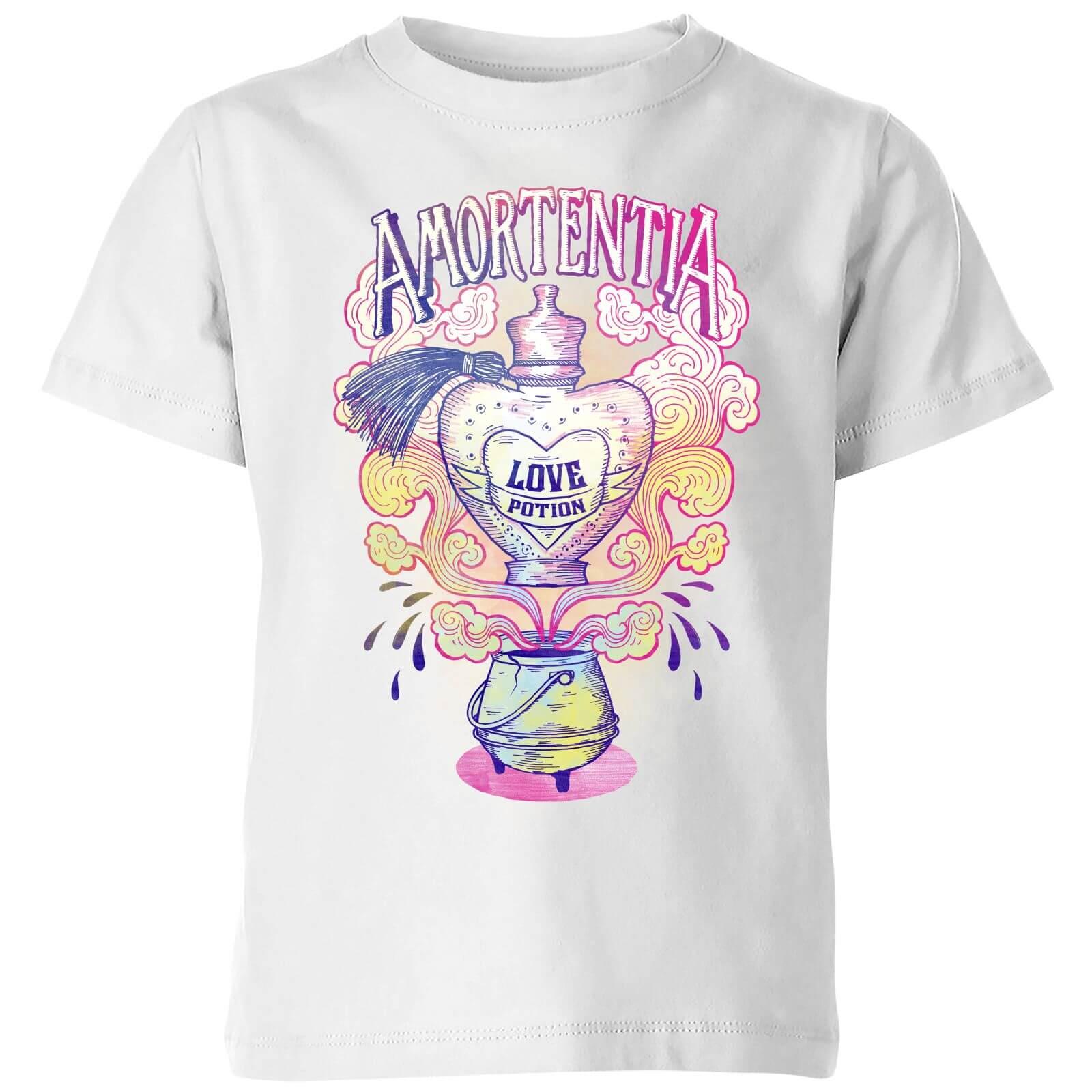 56045a47 Harry Potter Amorentia Love Potion Kids' T-Shirt - White Clothing | Zavvi