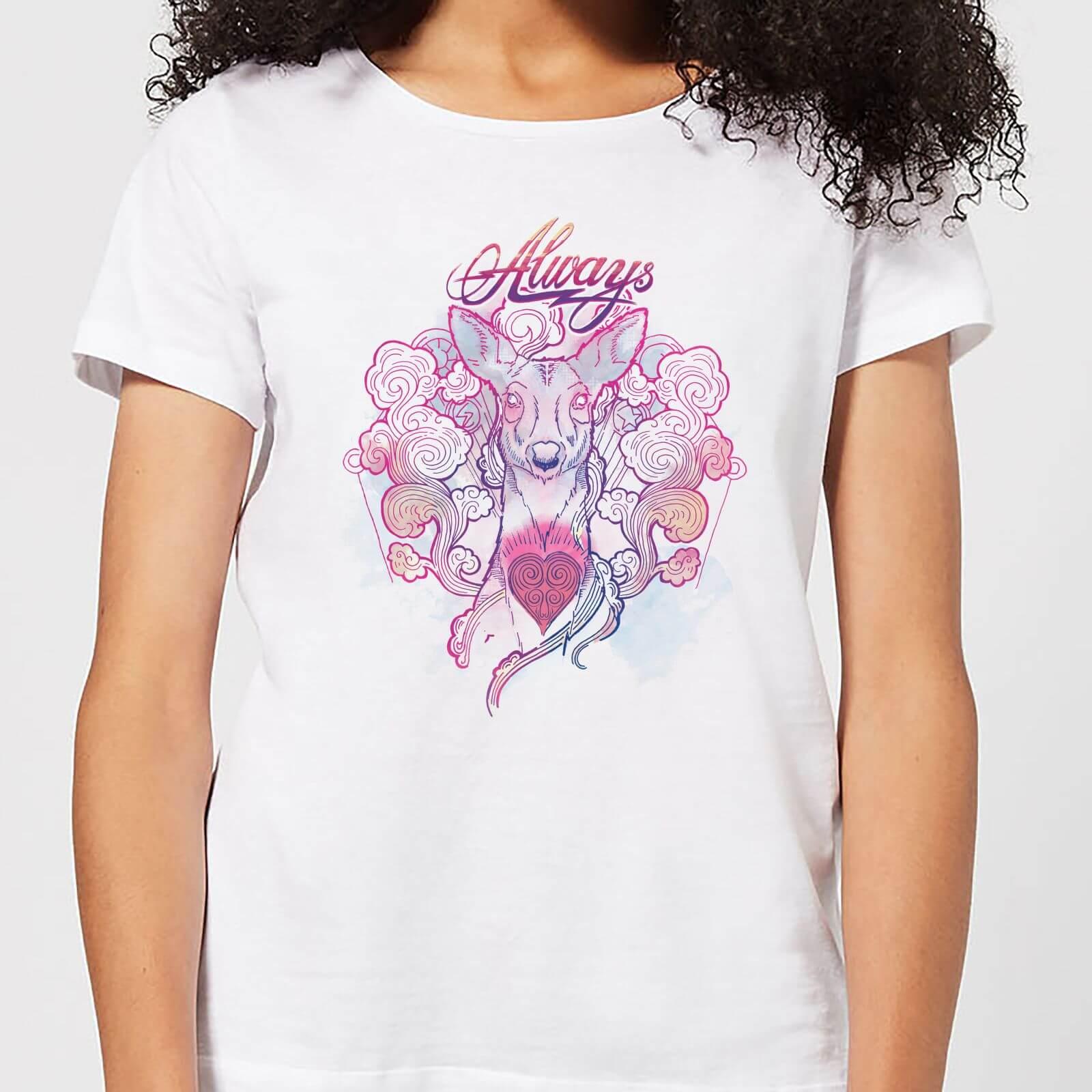 5a714b1c1 Harry Potter Always Women's T-Shirt - White Clothing | Zavvi